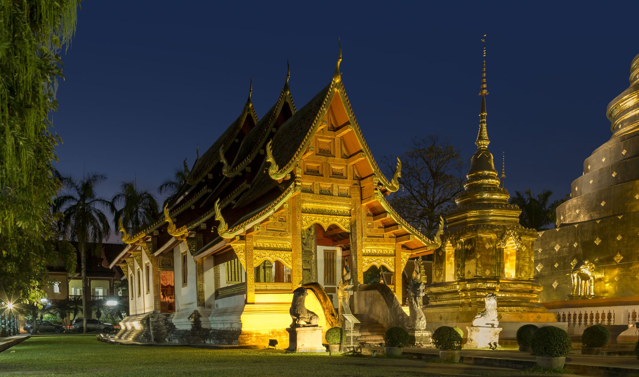Wat Phra Singh Temple, Thailand