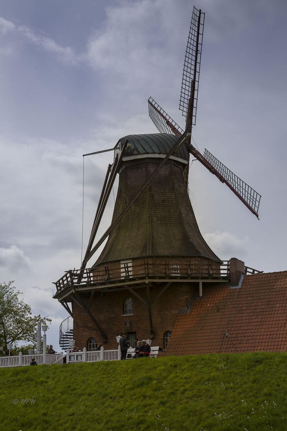Windmill 'Aurora' in Jork-Borstel, Germany