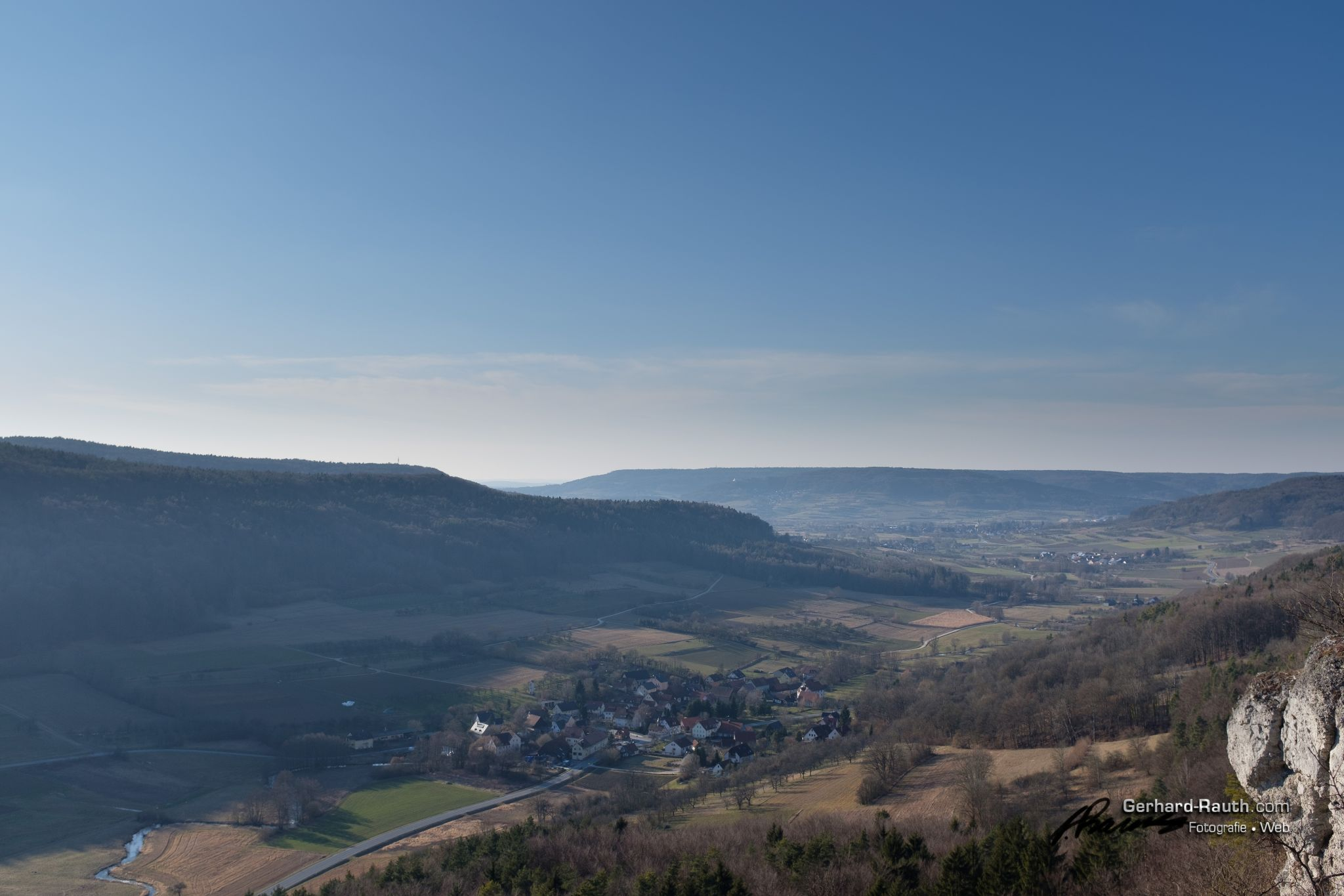 Above the Trubach, Germany