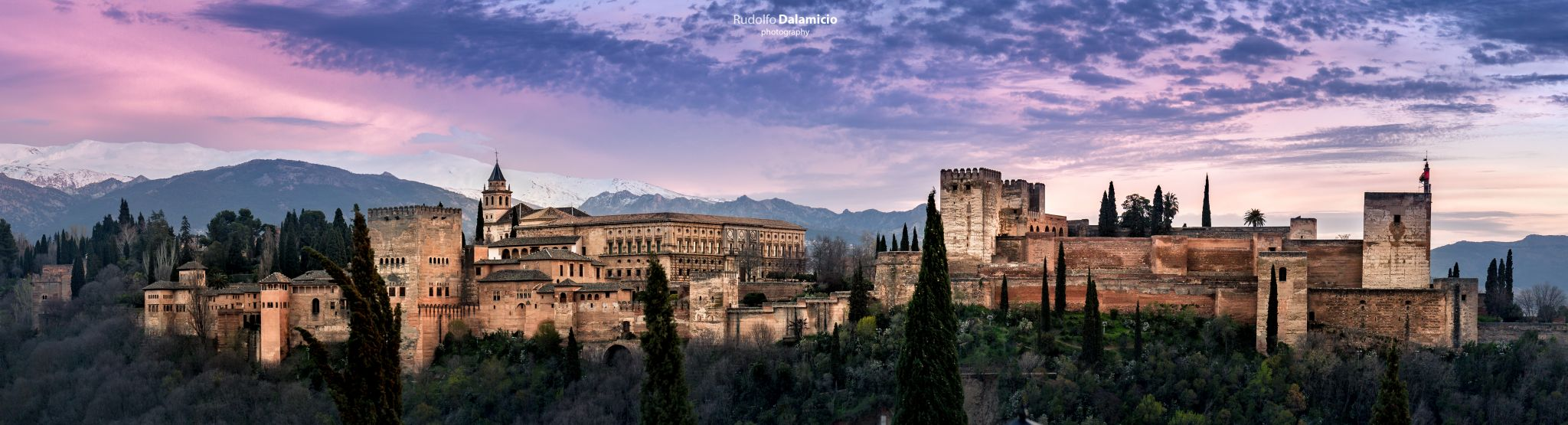 Alhambra Sunset Sky, Spain