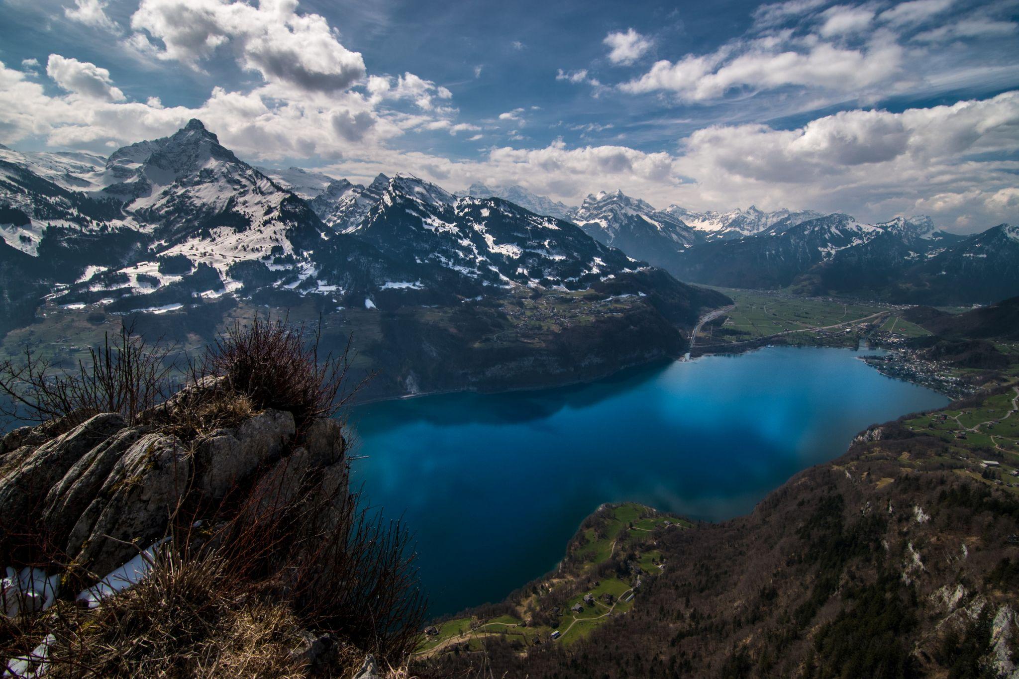Aussichtspunkt Chapf, Amden, Switzerland