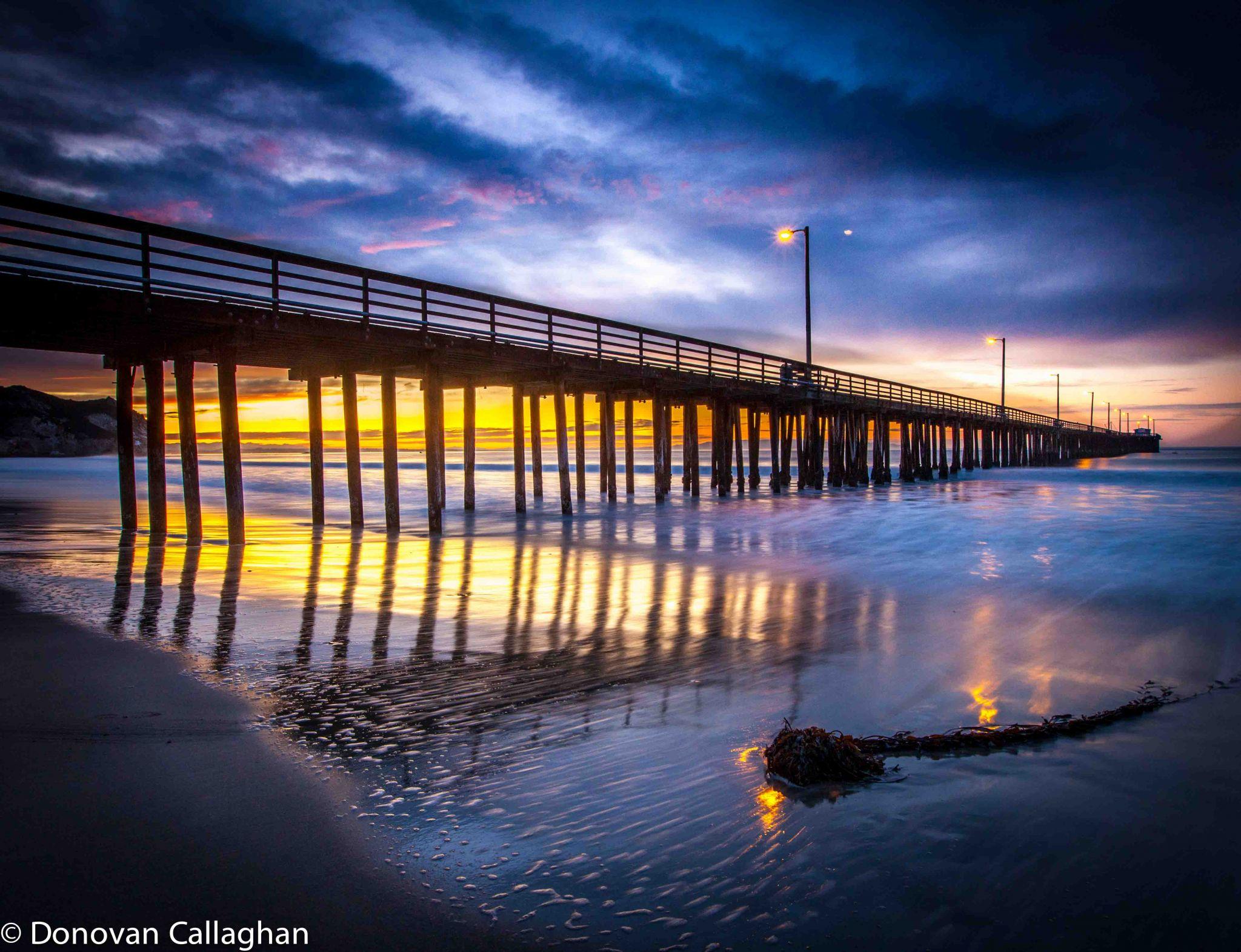 Avila Beach sunrise, USA