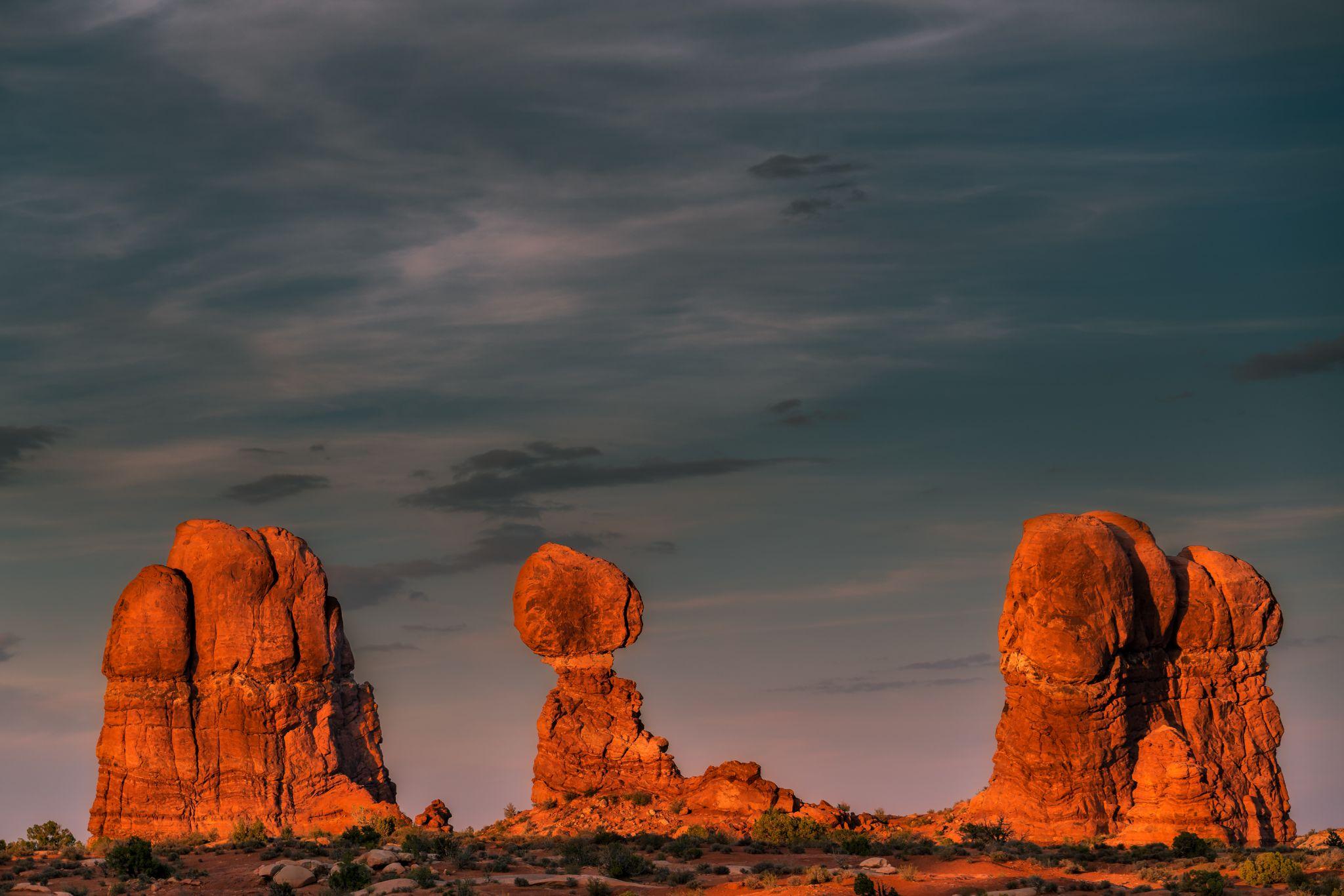 Balanced Rock, USA