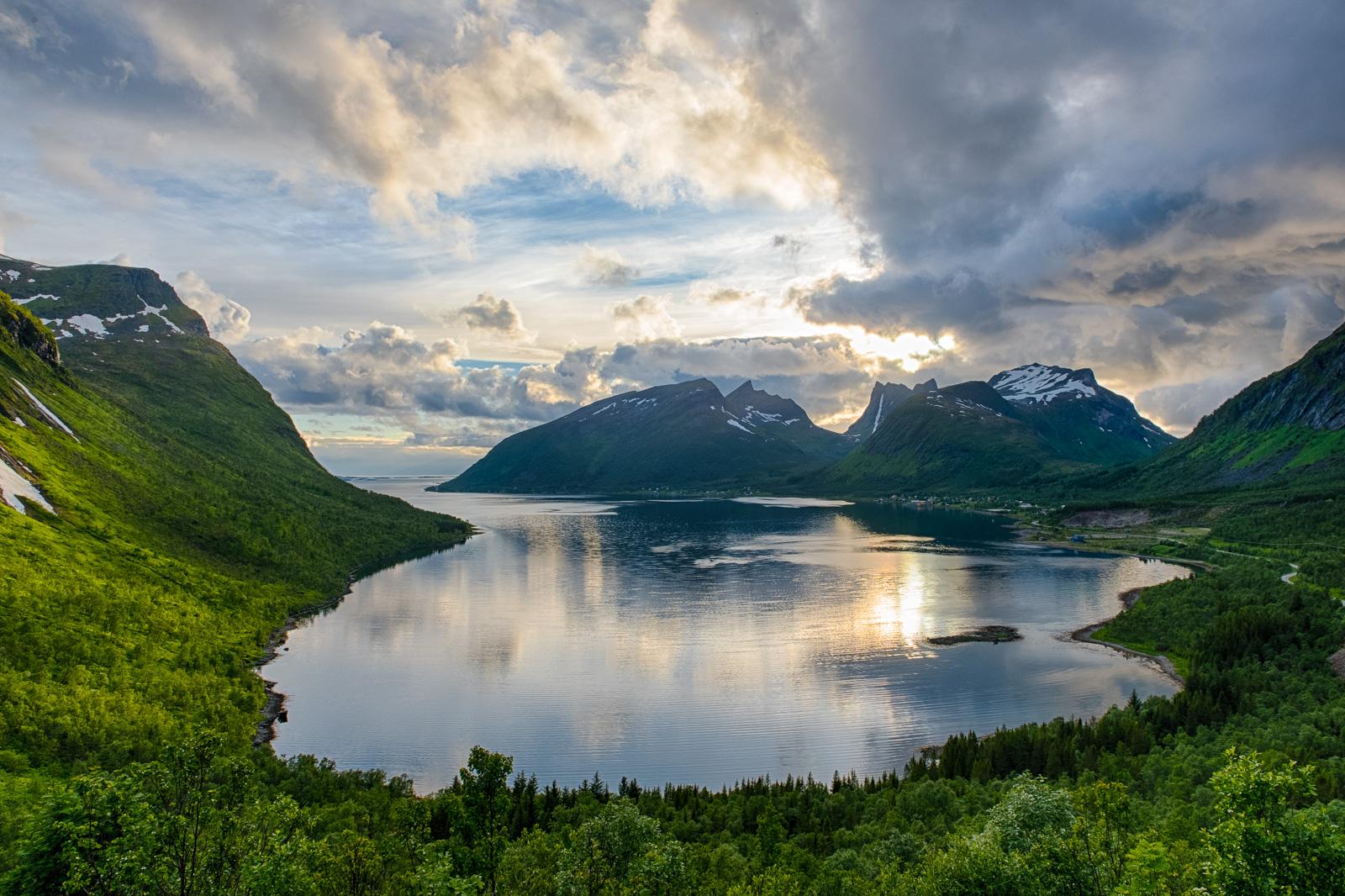 Bergsbotn viewing platform, Norway