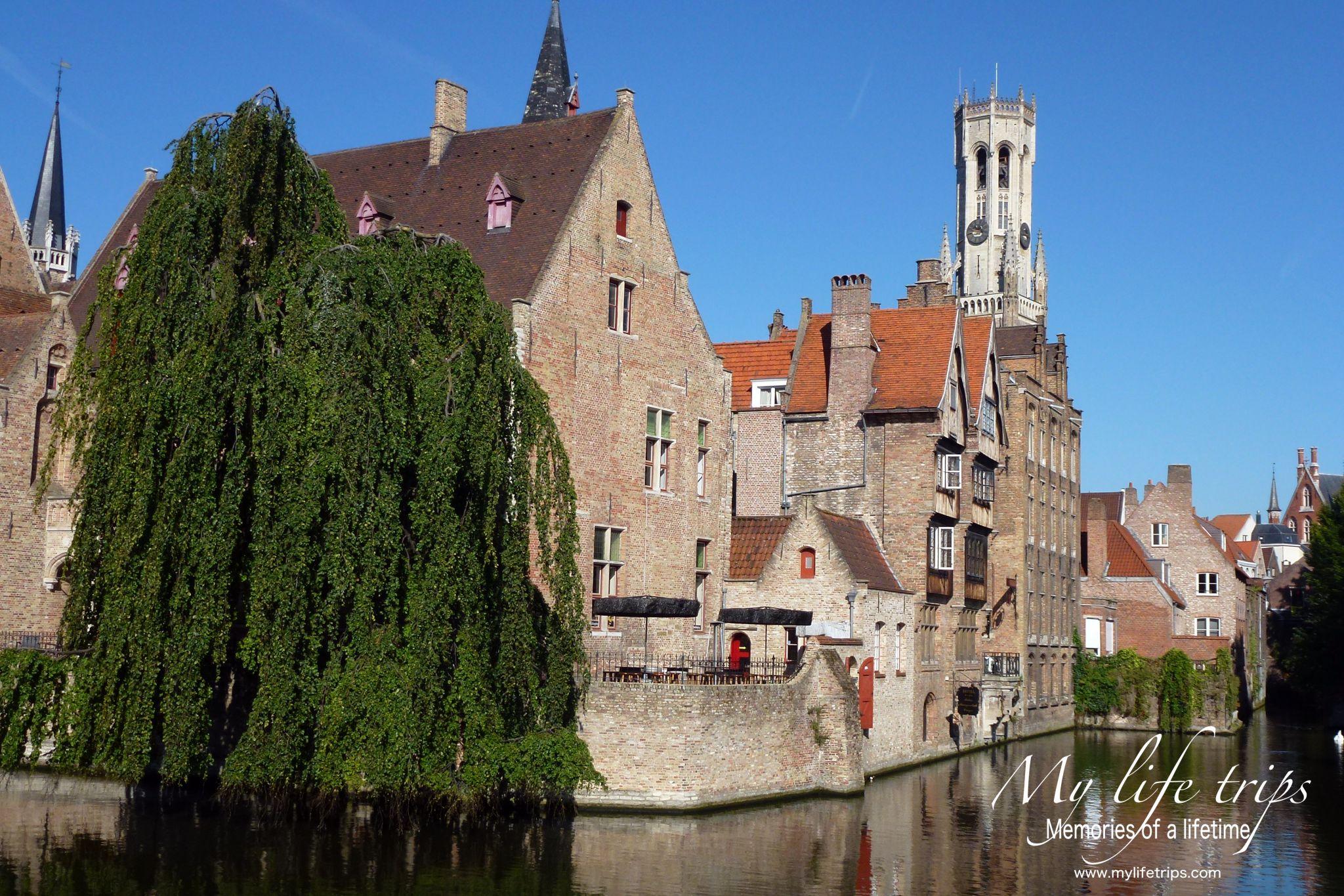 Bruges Djiver canal, Belgium