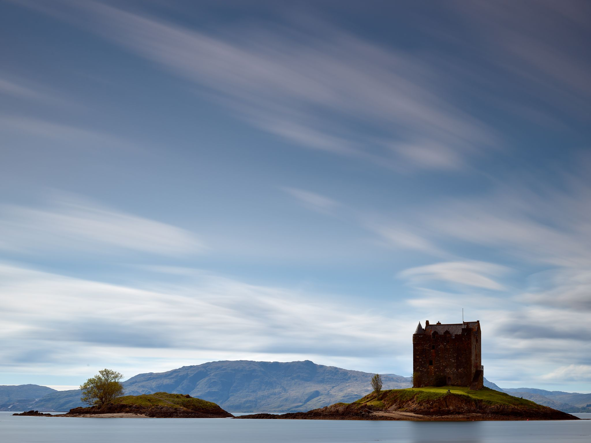 Castle Stalker, Loch Linnhe, Scotland, United Kingdom