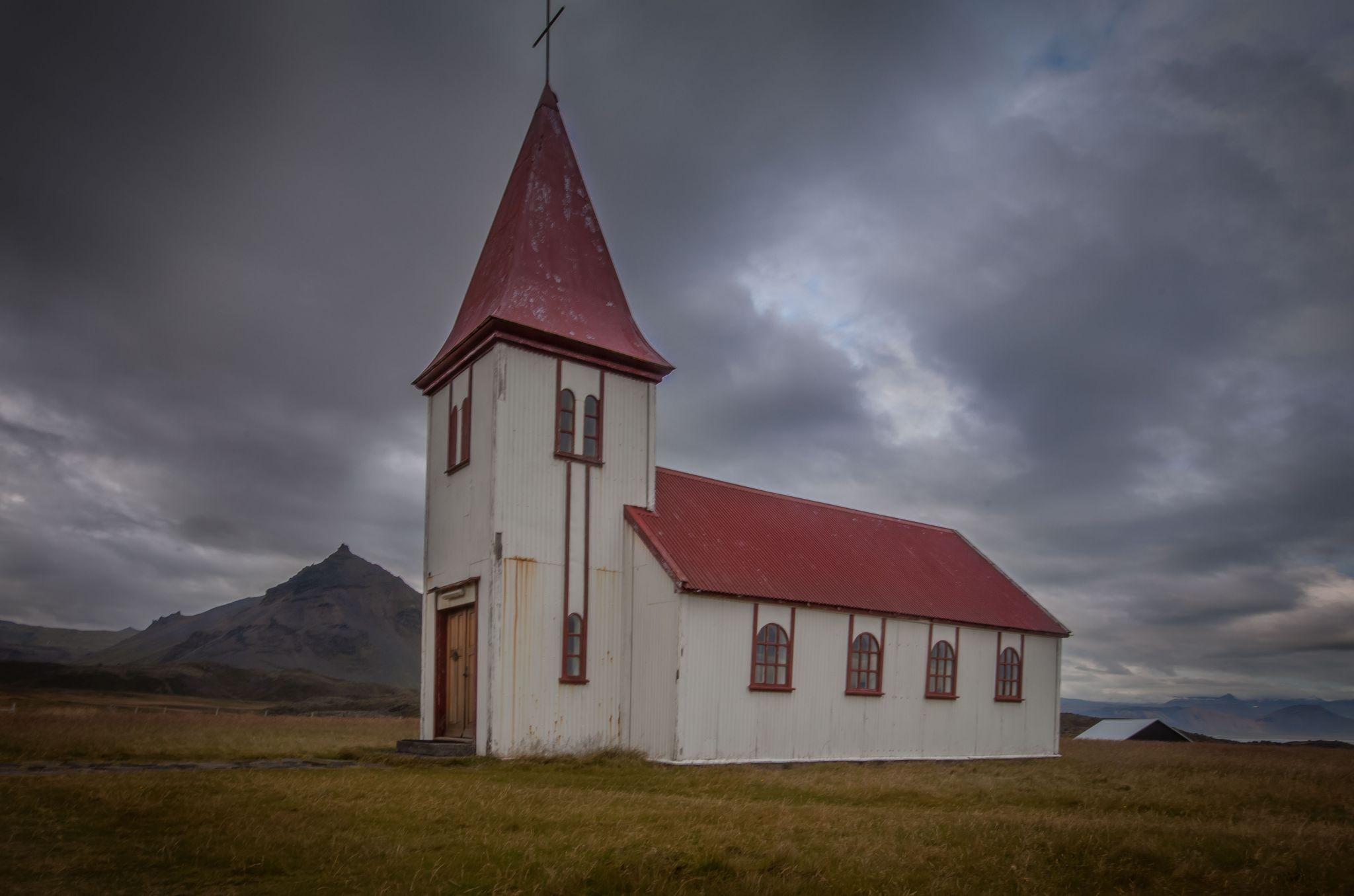 Church in Hellnar, Iceland