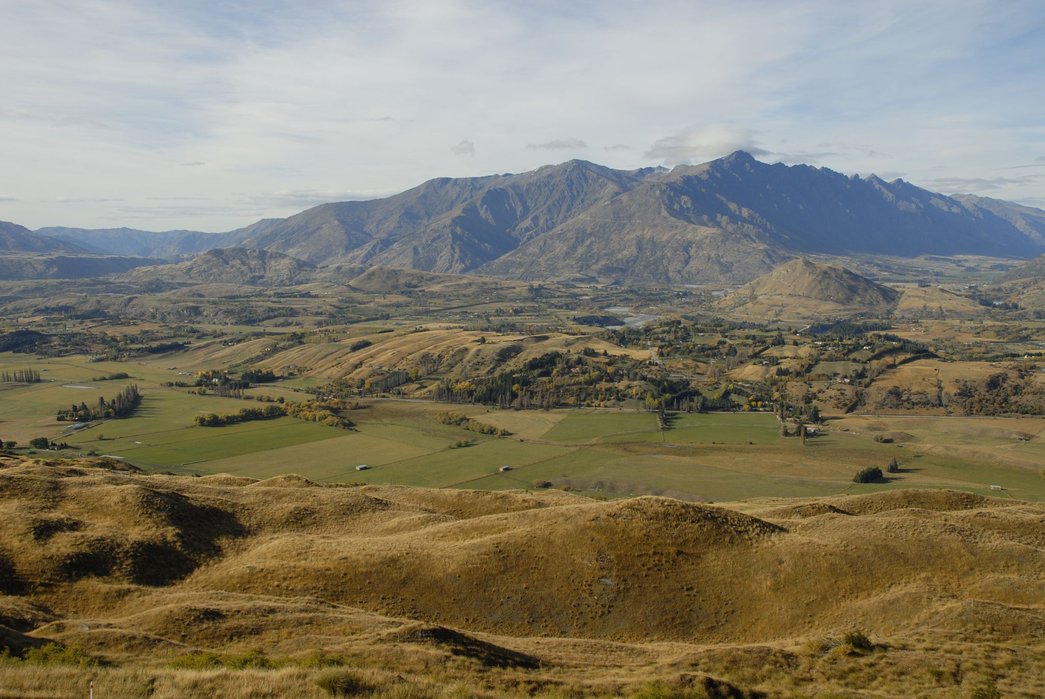 Coronet Peak access road, New Zealand
