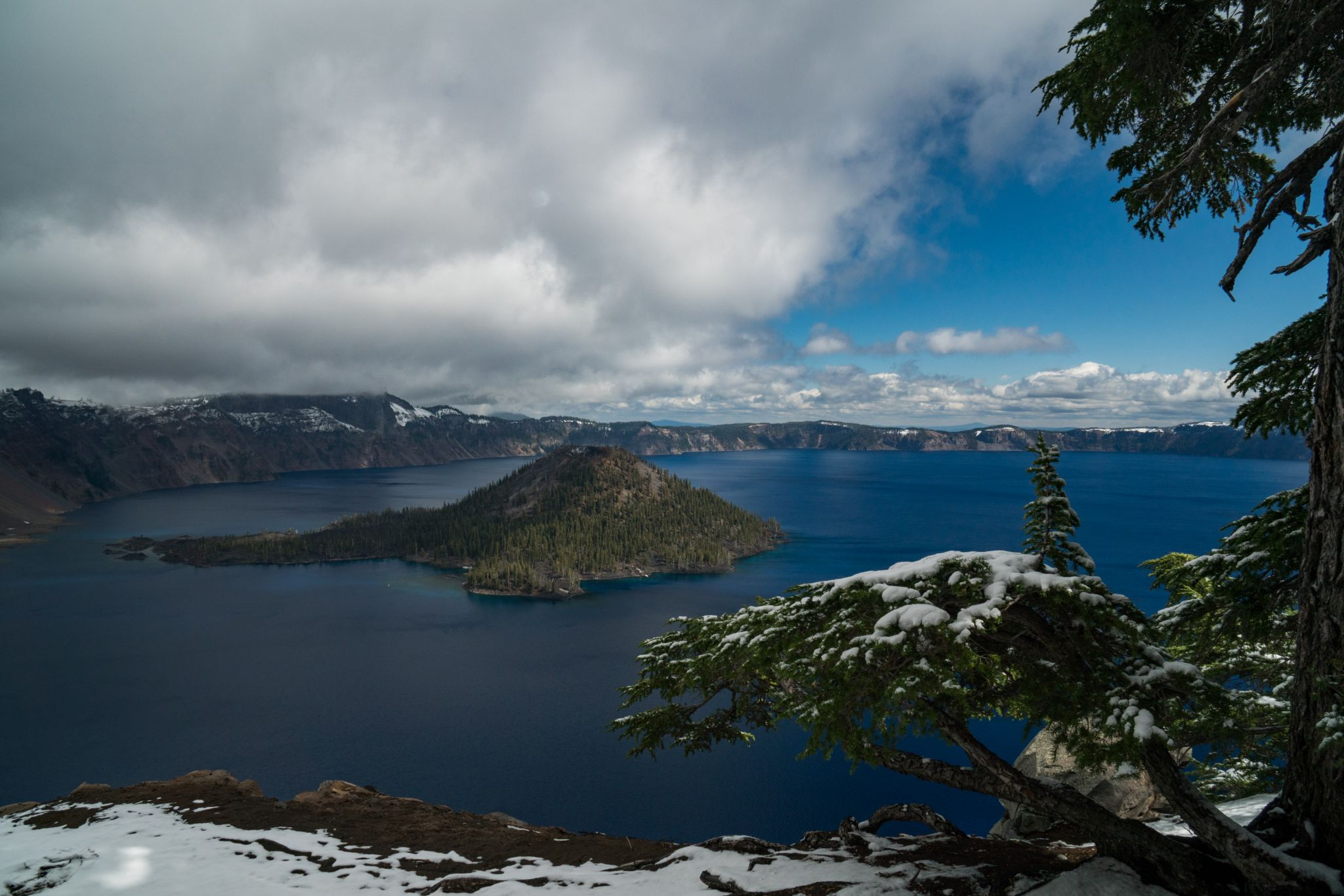 Crater Lake - Discovery Point, USA