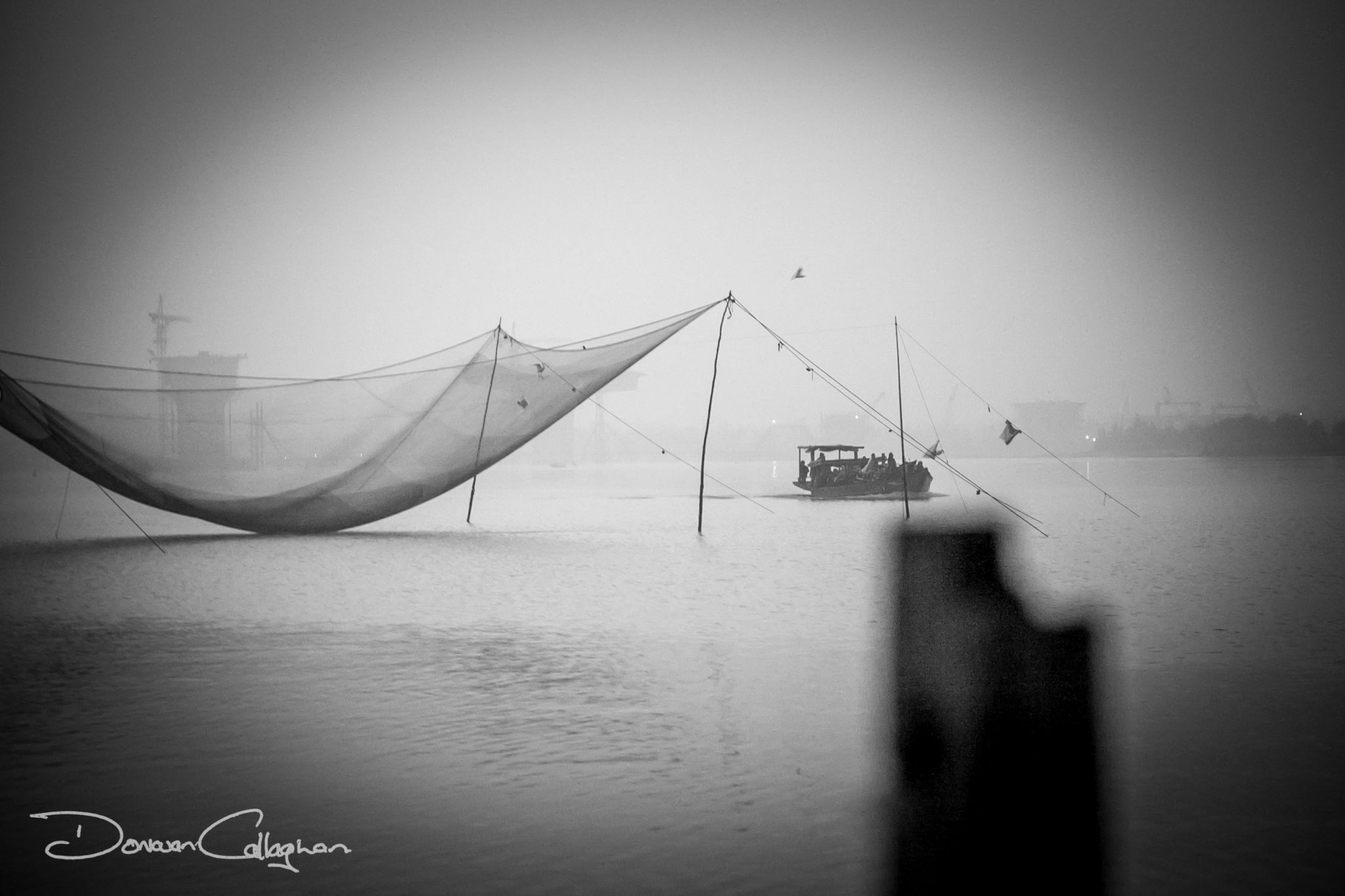 Fishing nets Hoi An, Vietnam