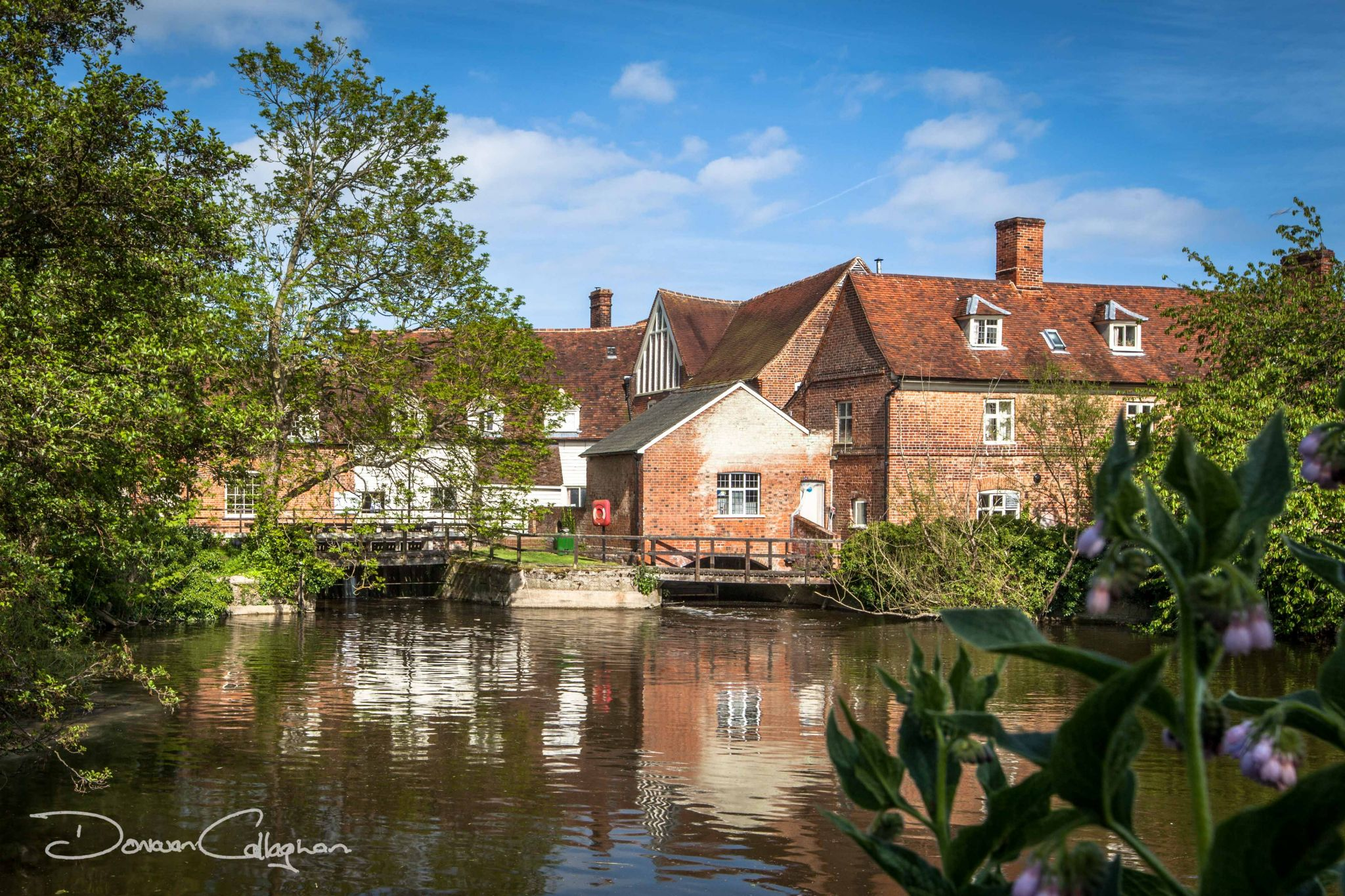 Flatford Mill John Constable country side, United Kingdom