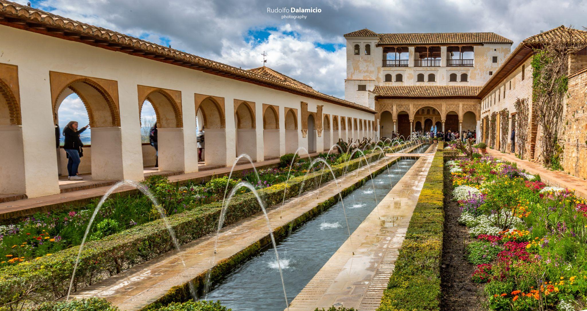 Gardens of Generalife, Spain