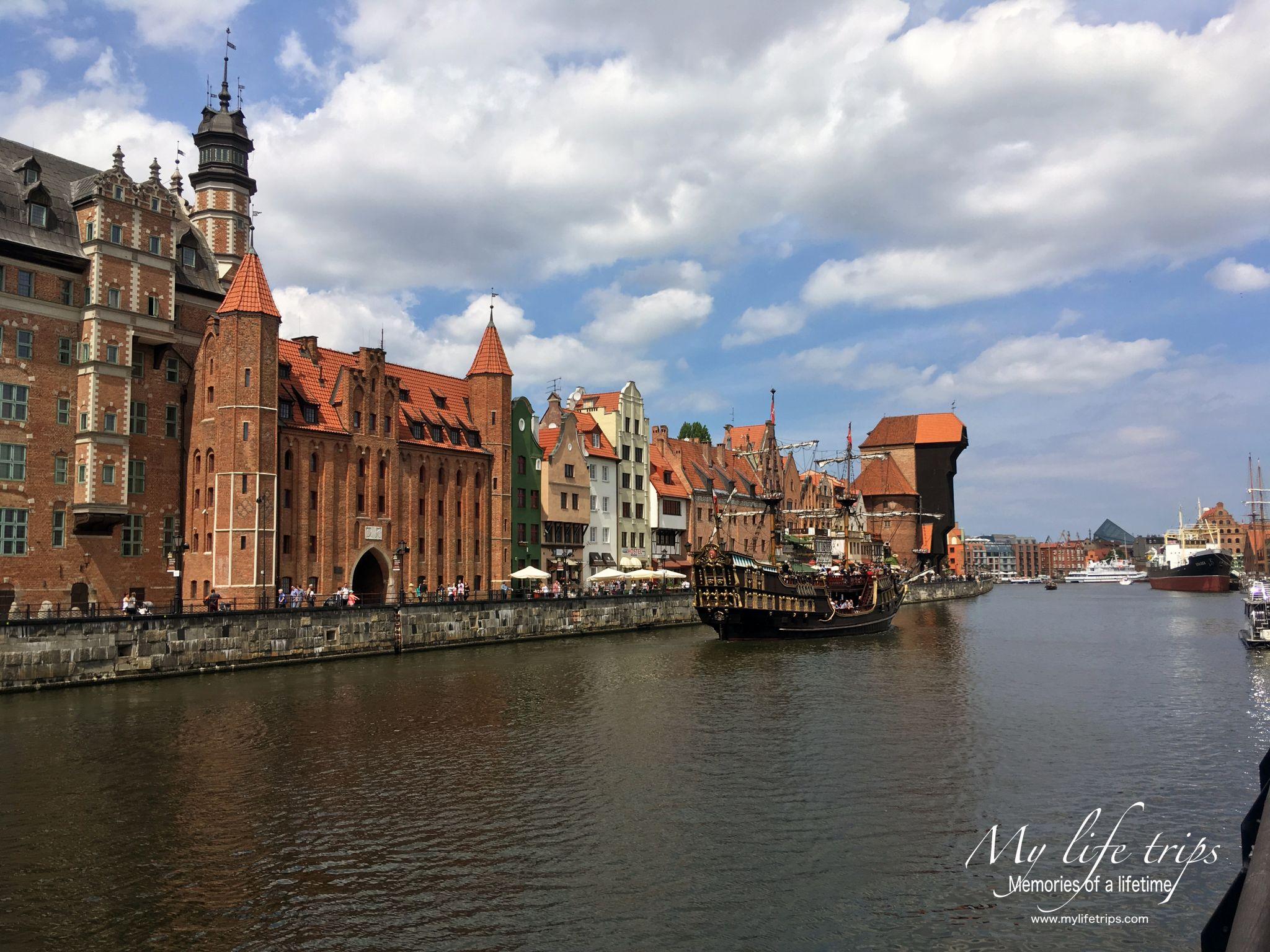 Gdansk Old Port, Poland