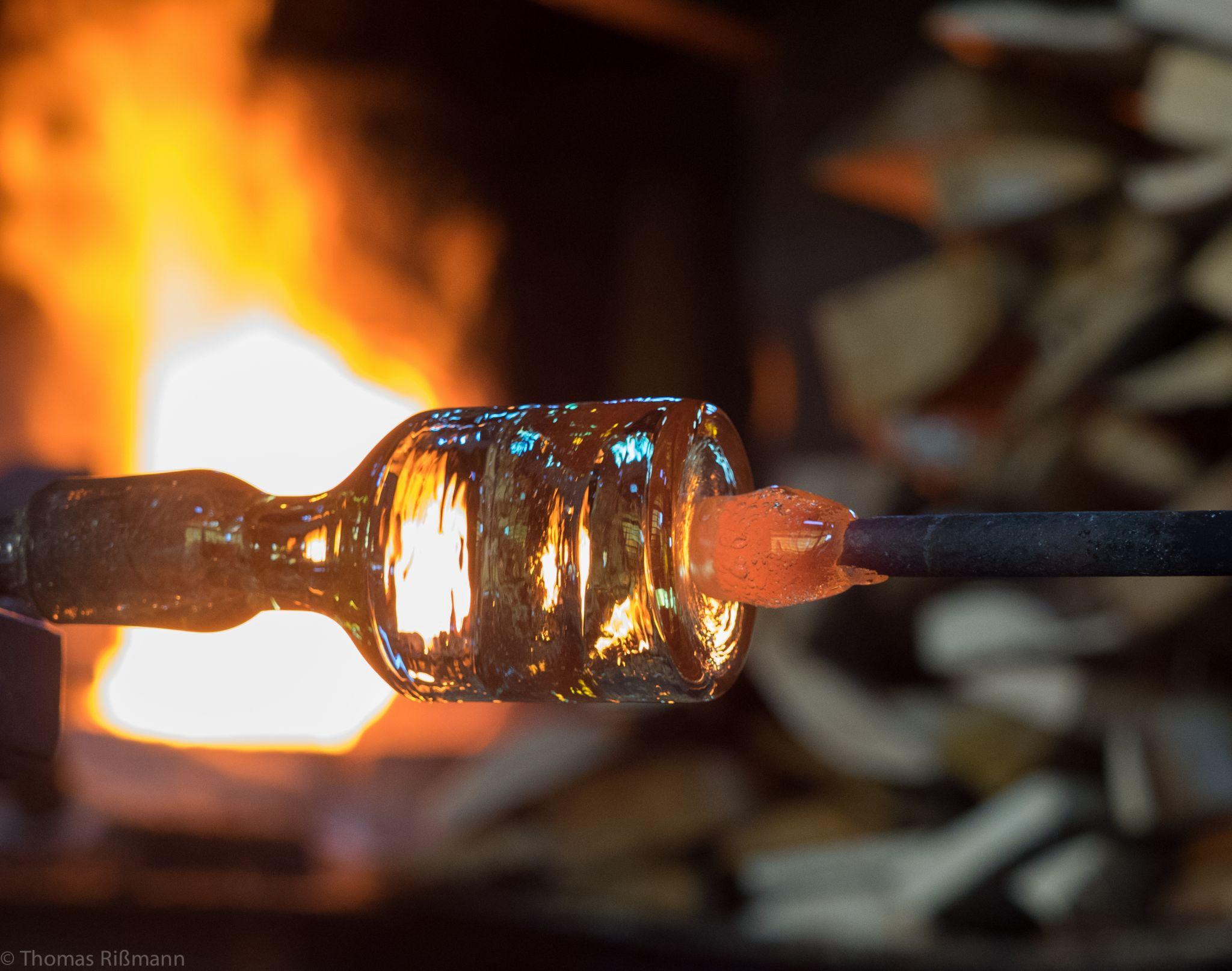 glassblowery gordiola, Spain