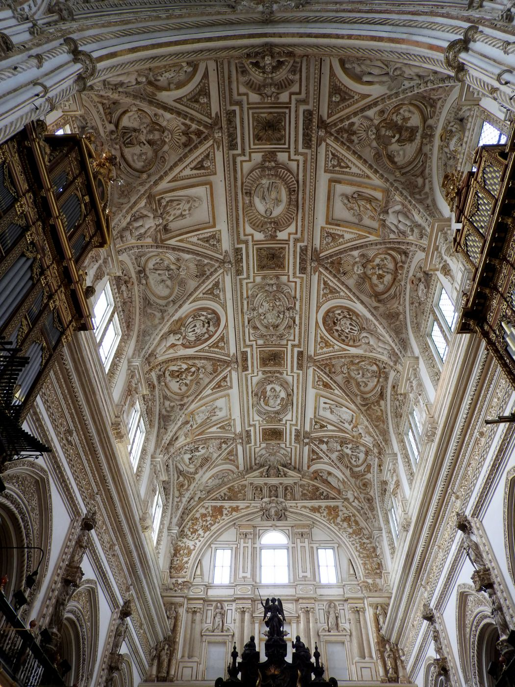 Interior of Cathedral side of Mezquita-Catedral de Córdoba, Spain