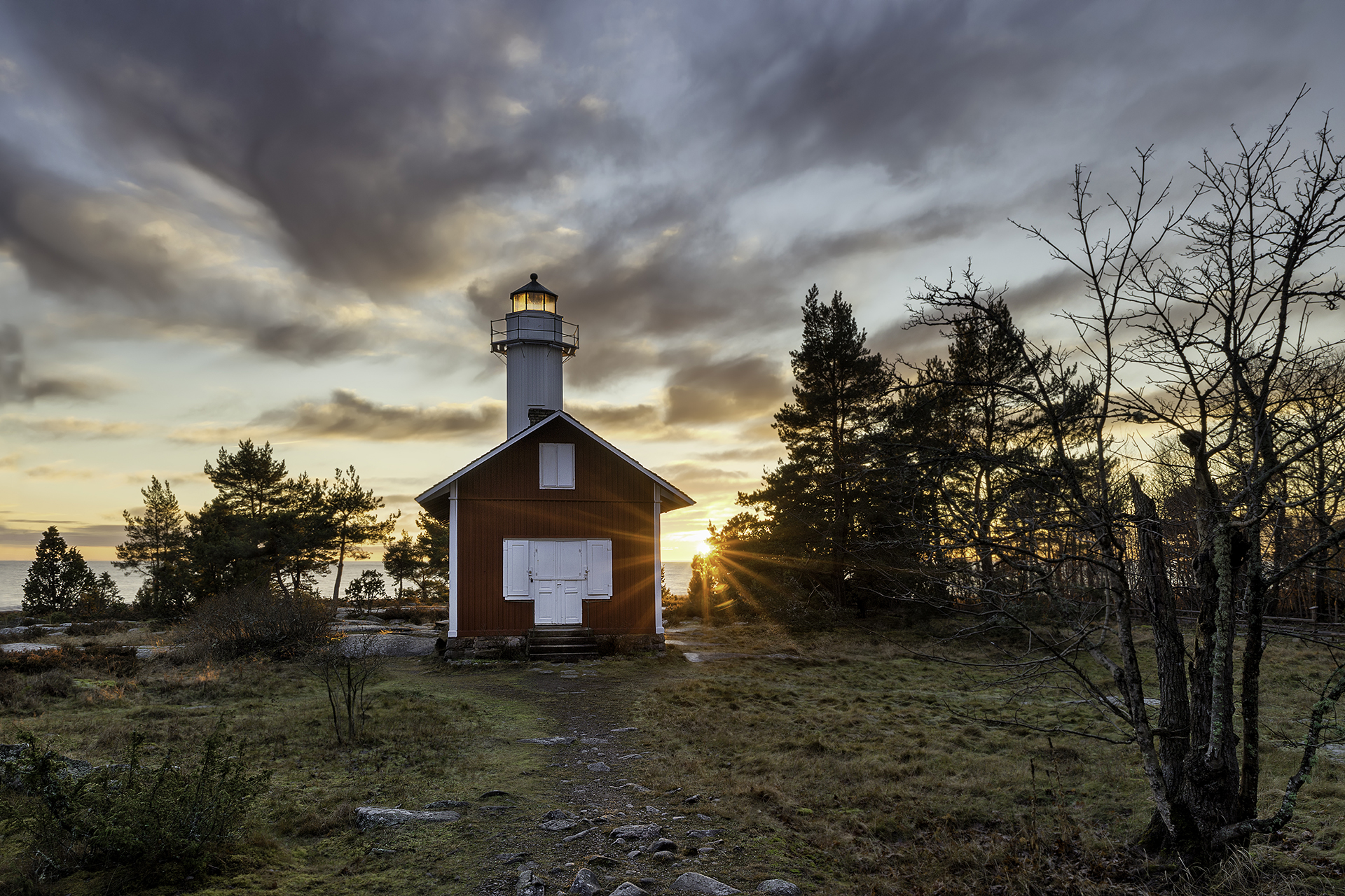 Karlstad golden winter moments, Sweden