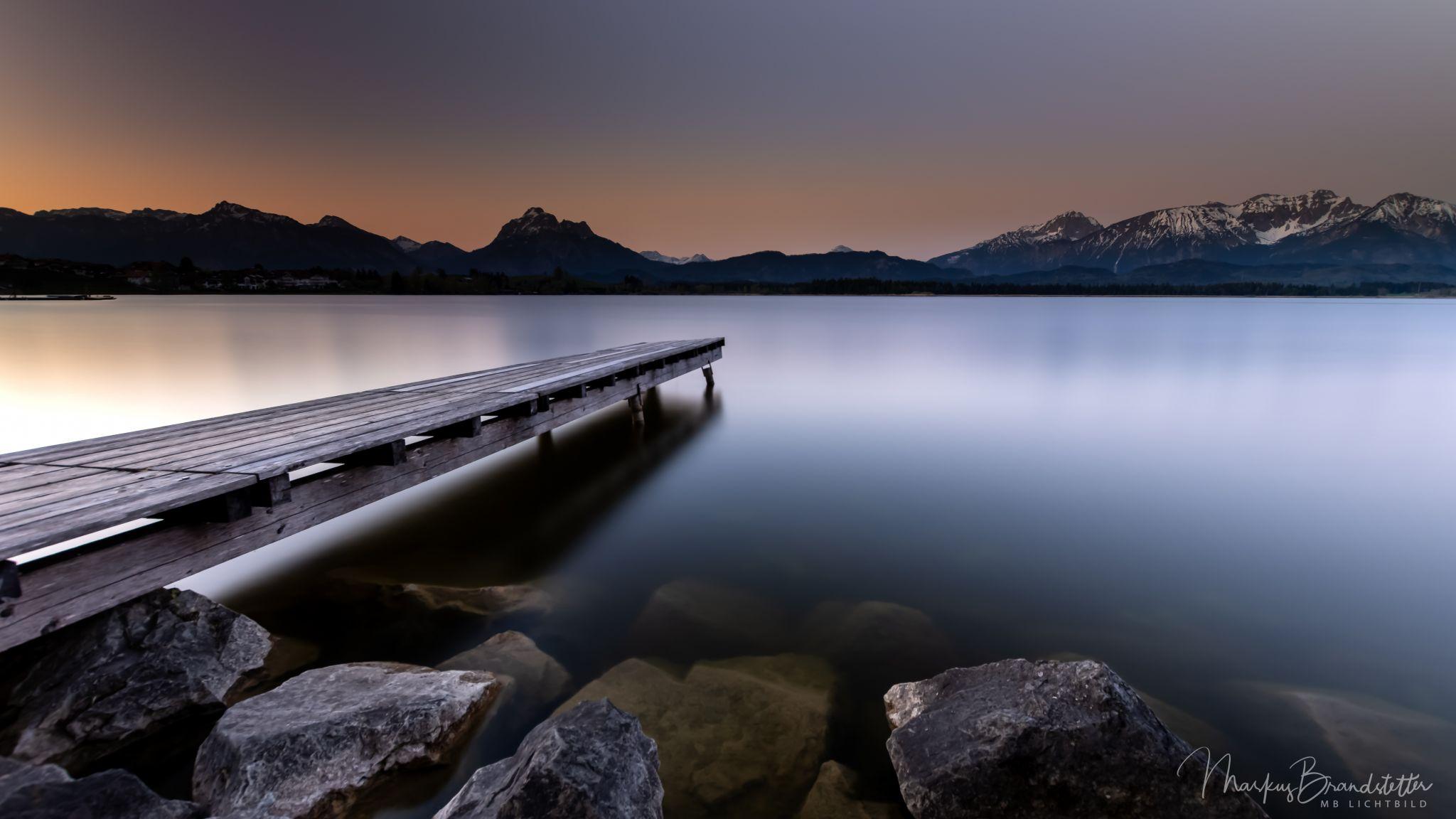 Lake 'Hopfensee', Germany