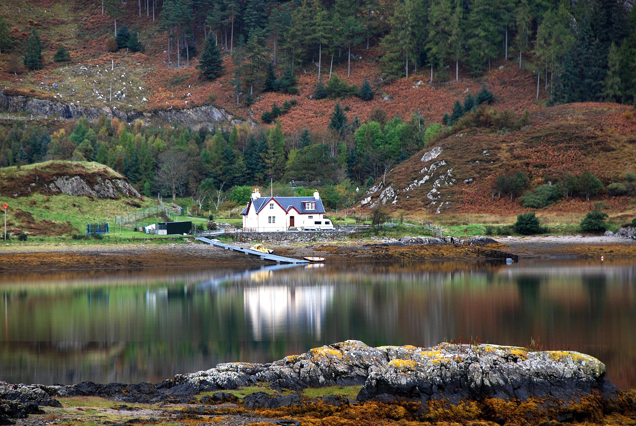 Loch Duich, Scotland, United Kingdom