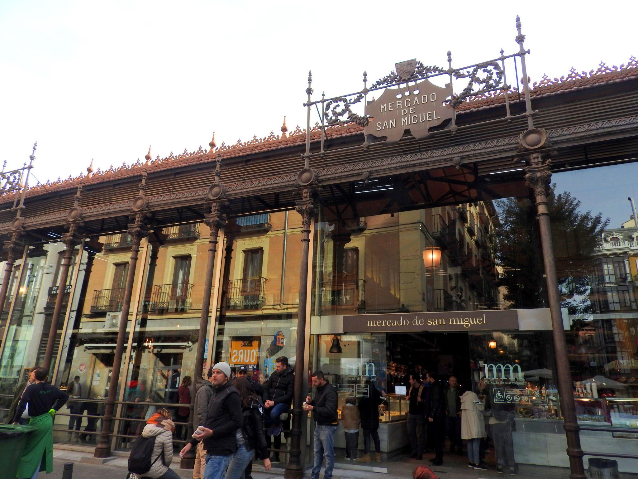 Mercado de San Miguel, Spain