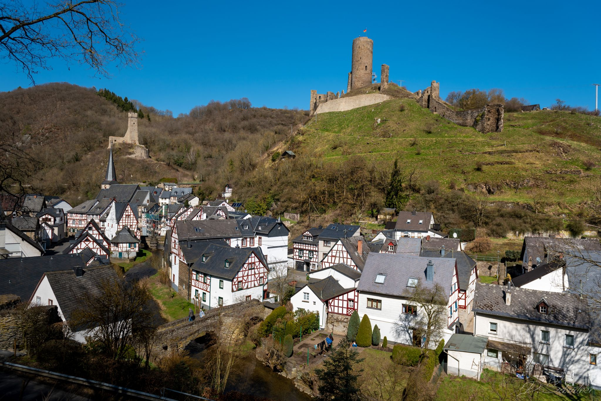 Monreal village, Germany
