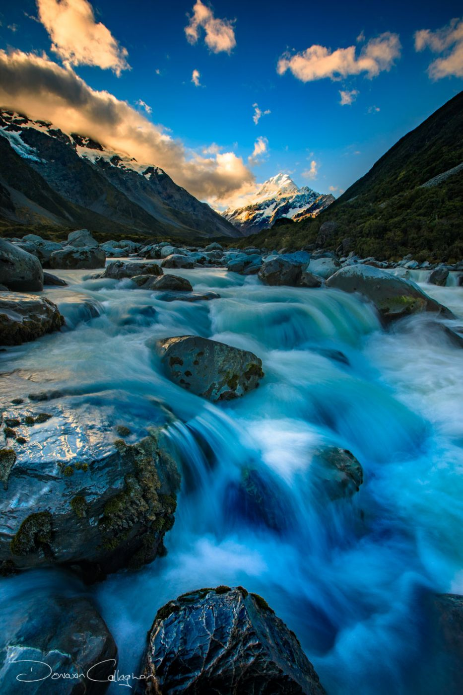 Mount Cook Late afternoon, New Zealand