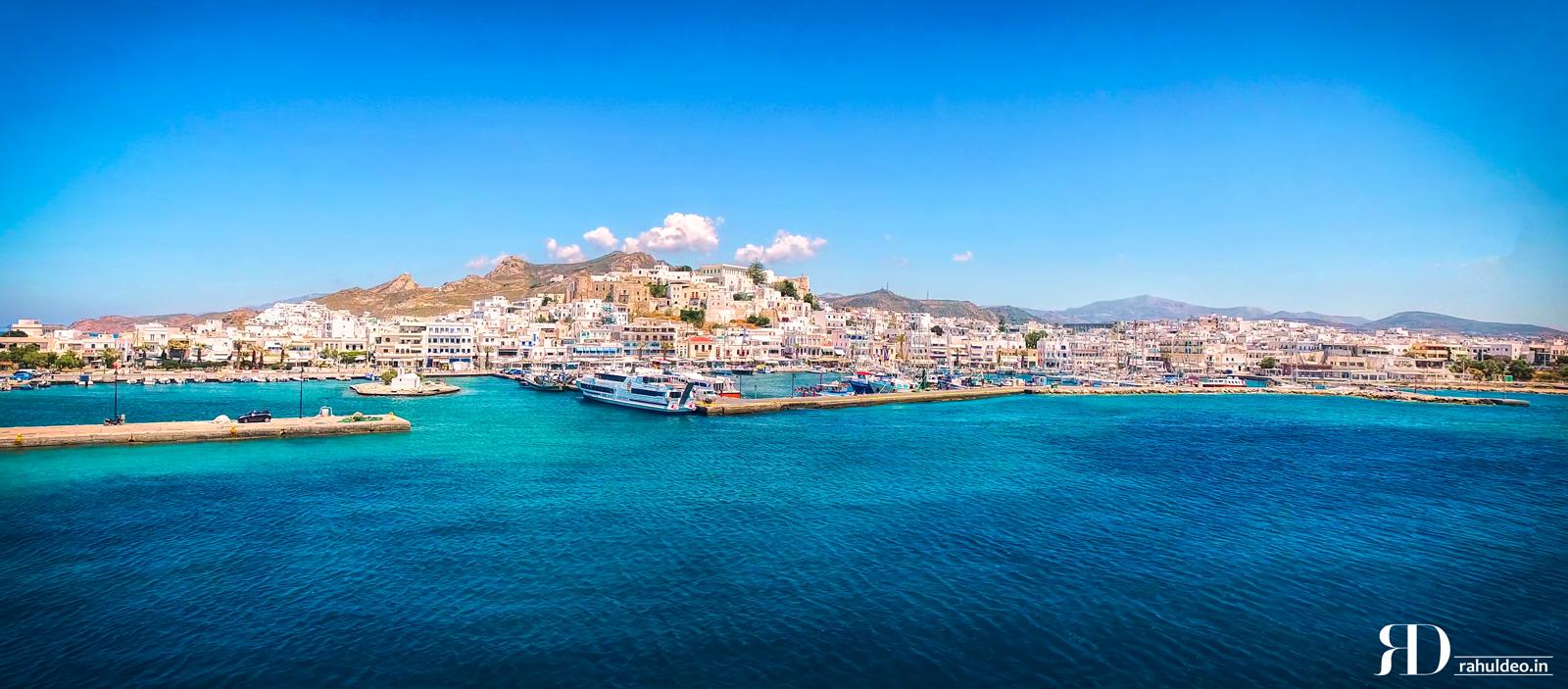 Naxos Greece Pier, Greece