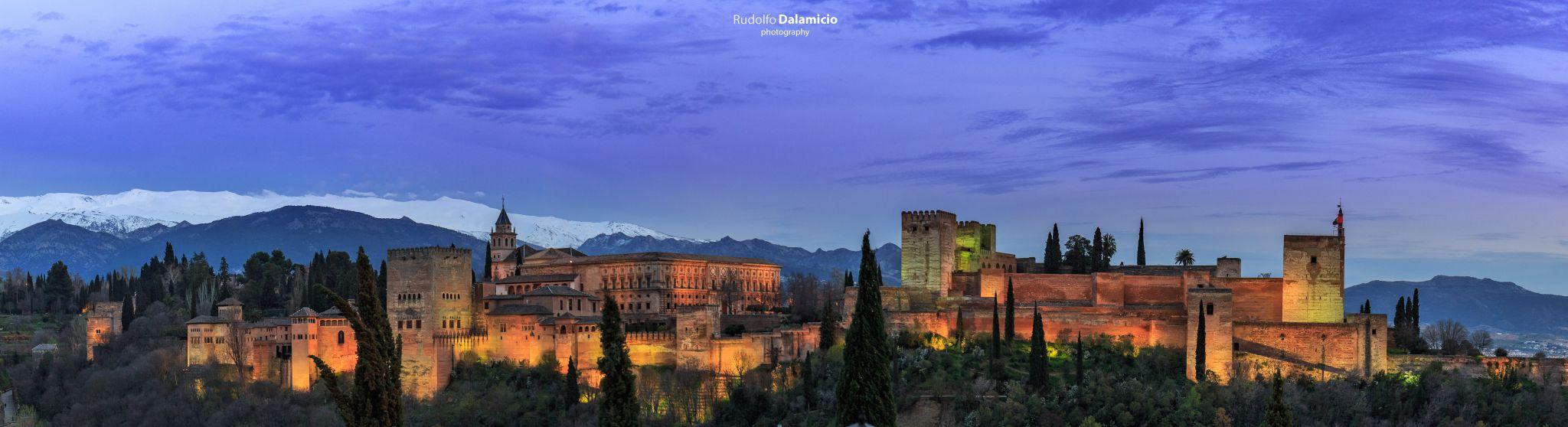 Panorama de Alhambra, Spain