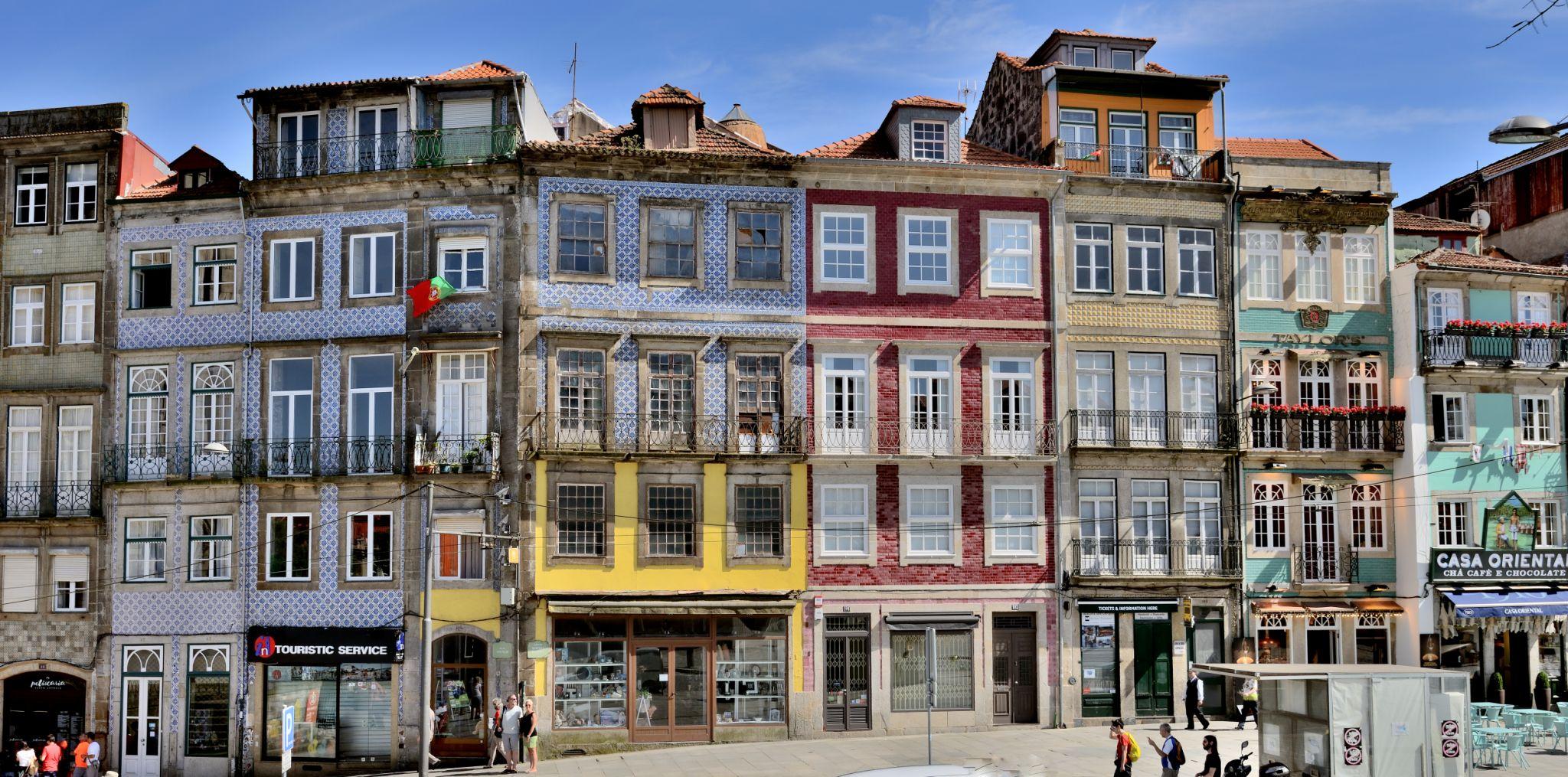 Porto facades, Portugal