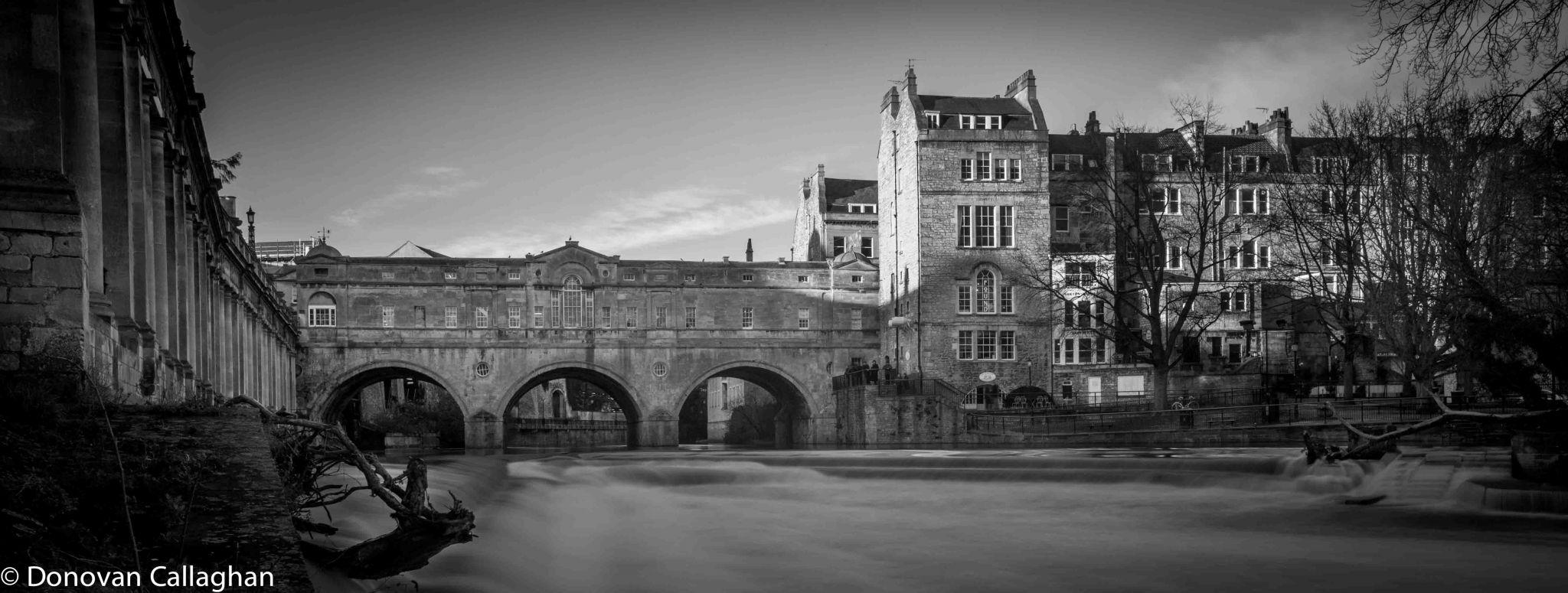 Pulteney Bridge Black & White, United Kingdom