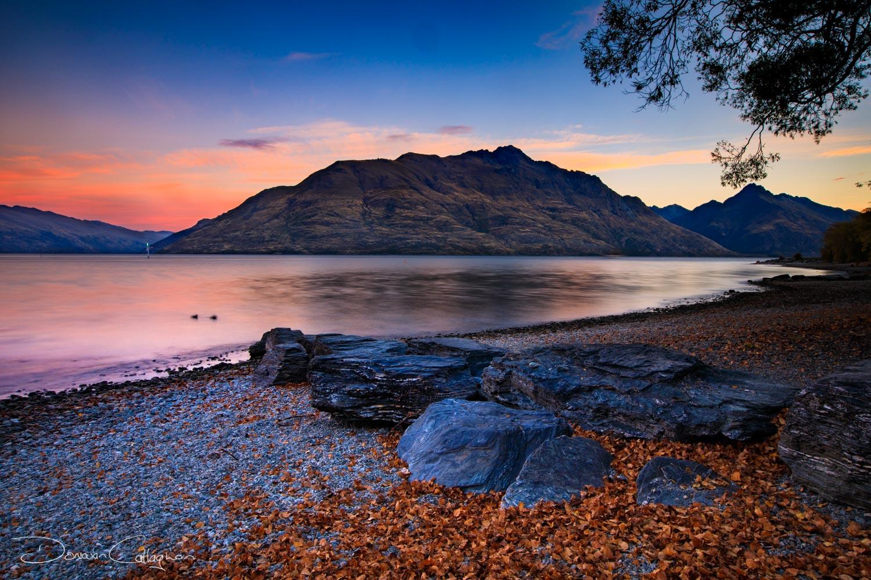 Queenstown Sunset, New Zealand