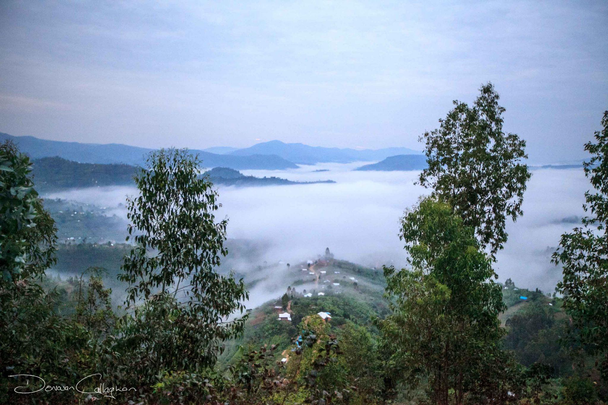 Rwanda drive to the mountains, Rwanda