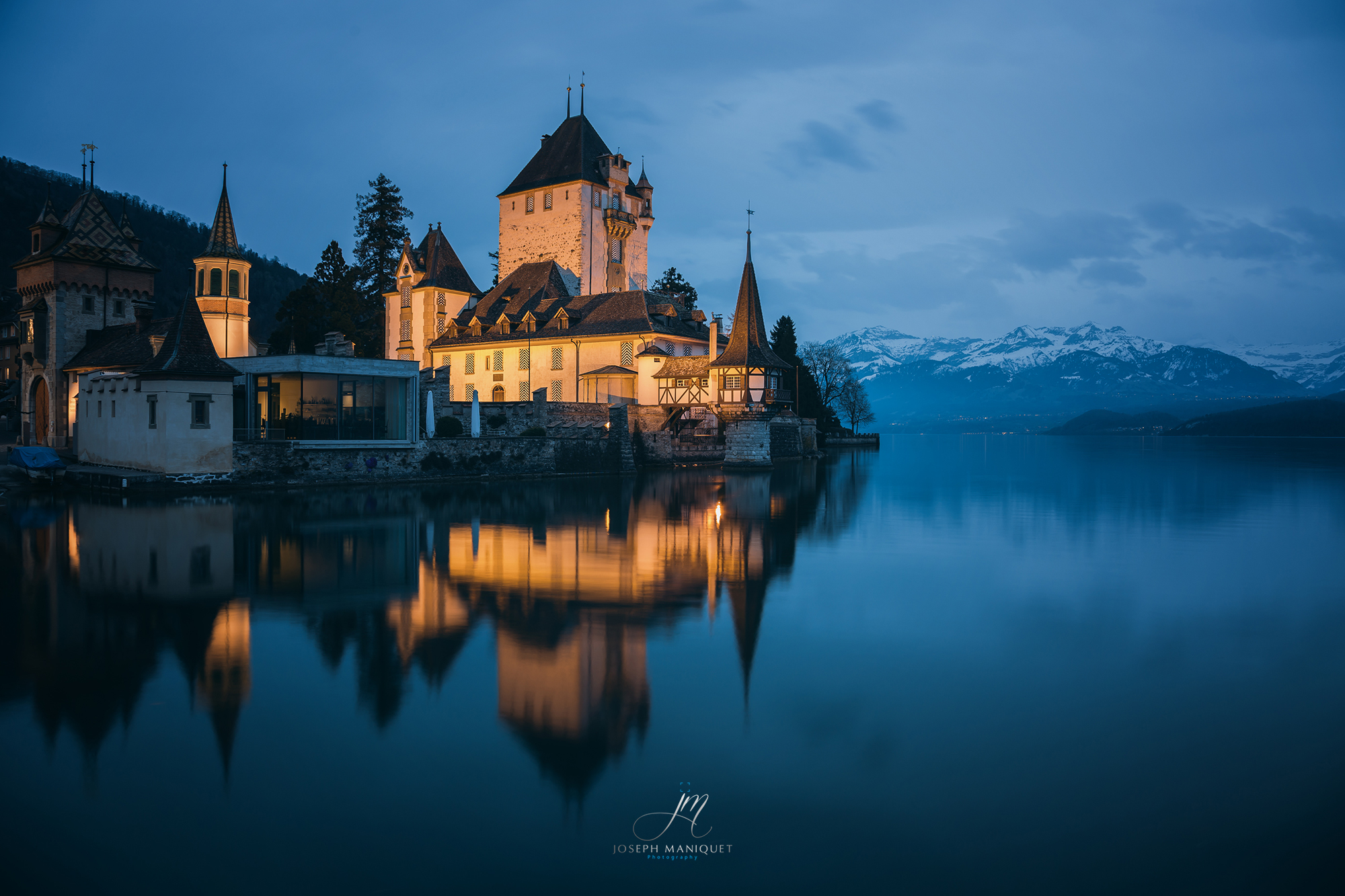 Castle Oberhofen, Switzerland