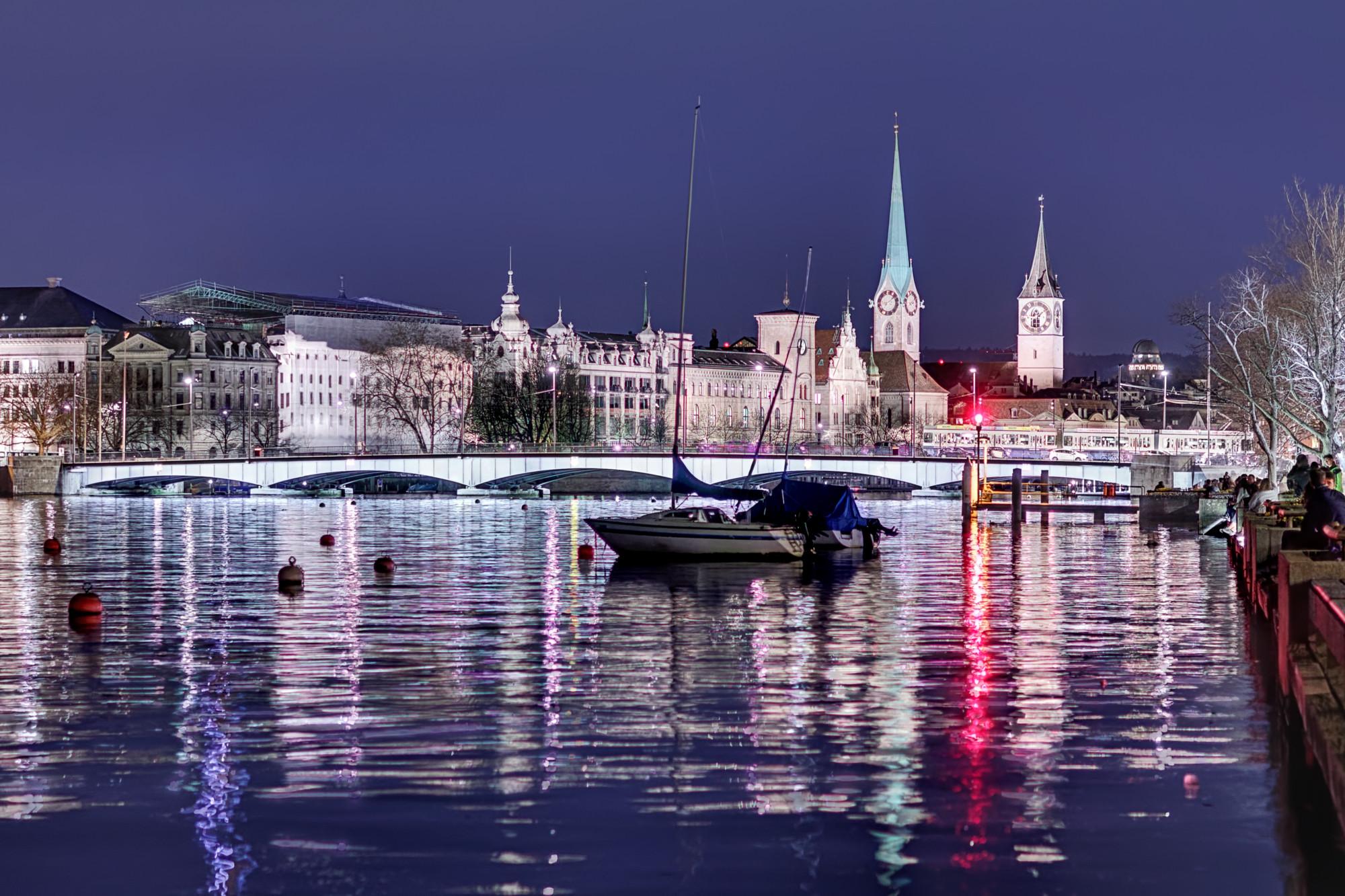 Seepromenade, Zürich, Switzerland
