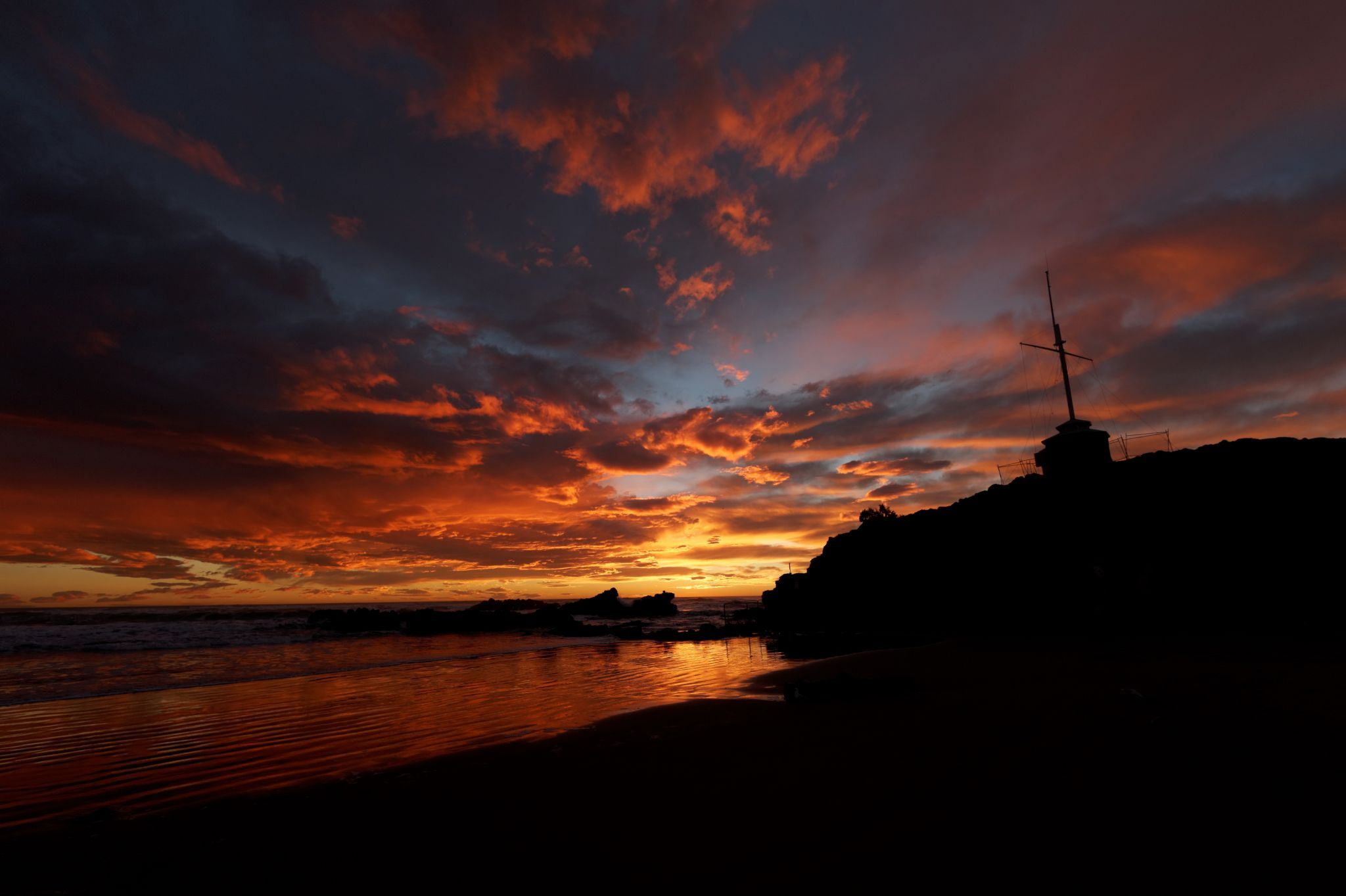 Sumner Beach, New Zealand