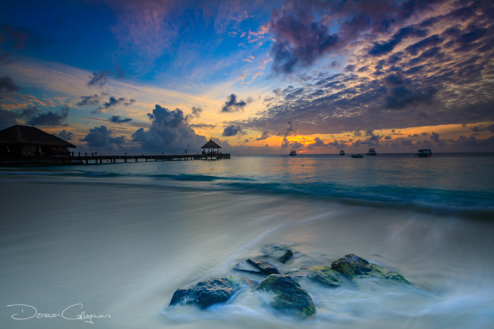 Sunrise on the beach Vivanta by Taj, Maldives