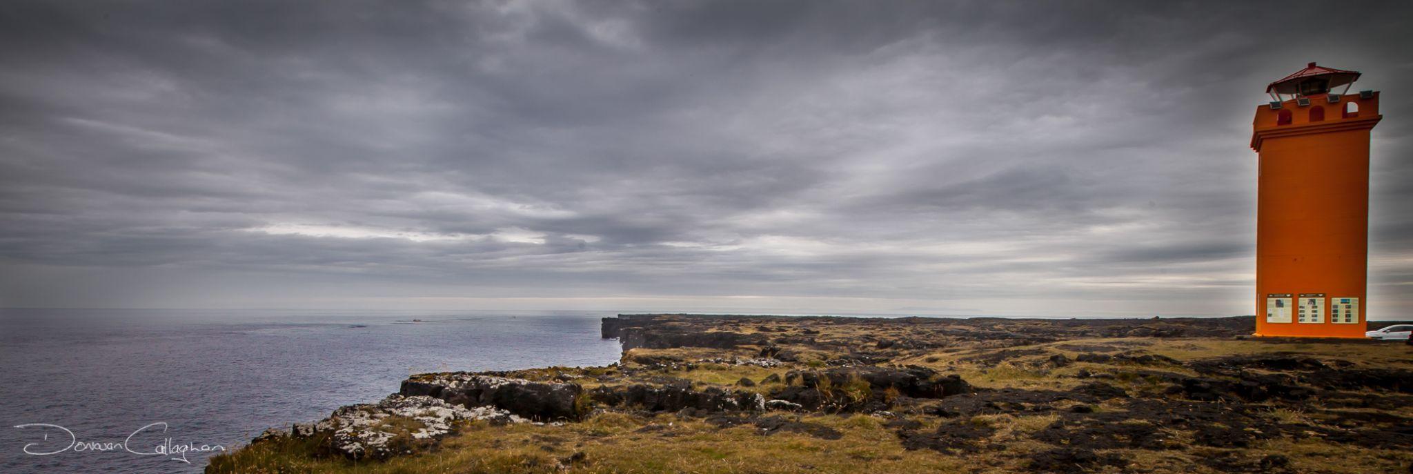 Svortuloft Light House, Iceland