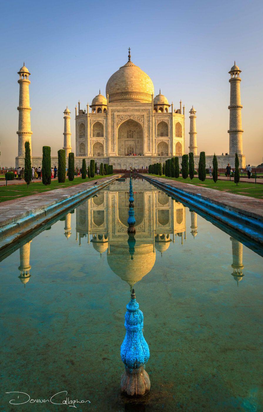 Taj Mahal Sunrise, India