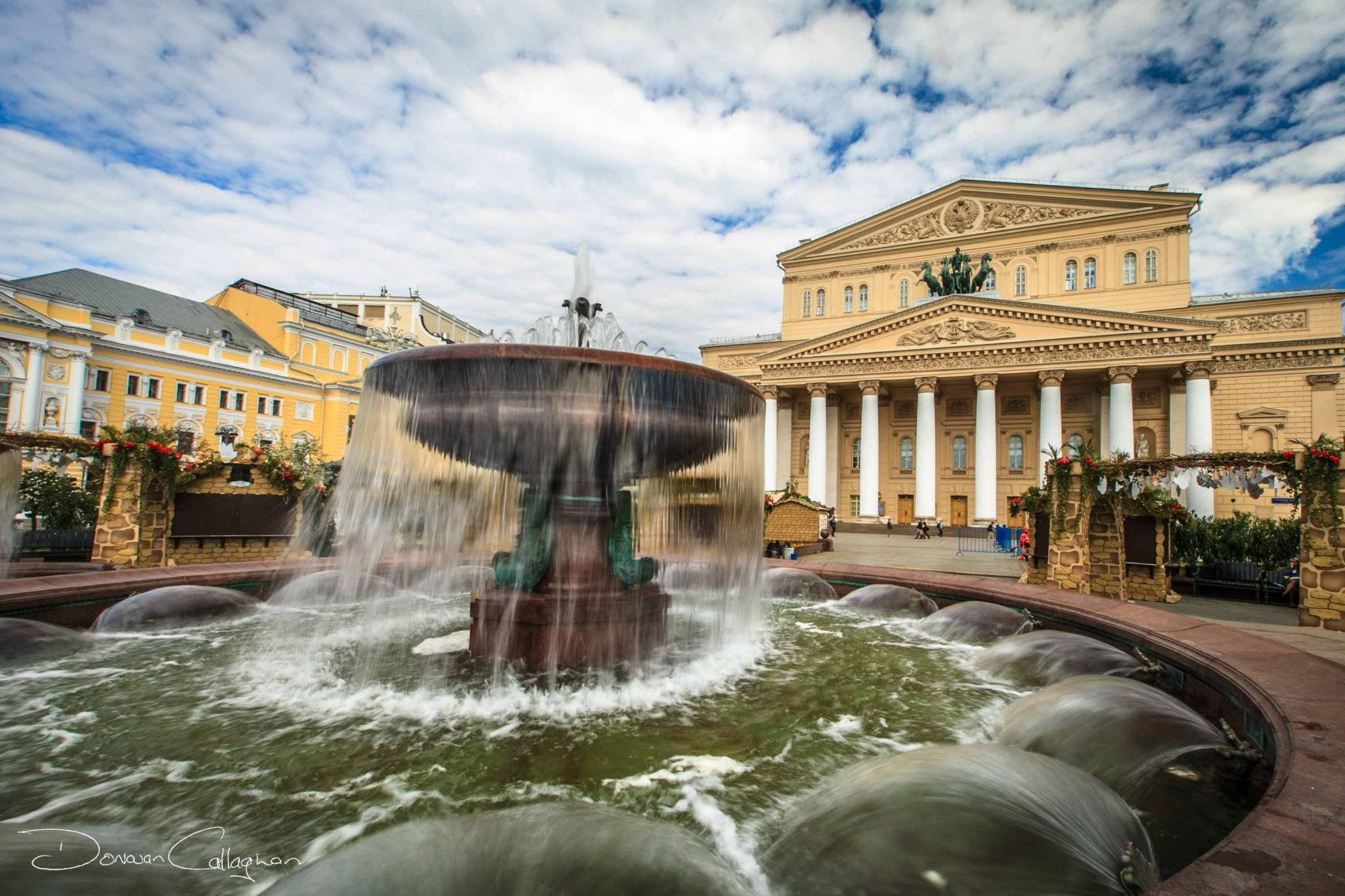 The Bolshoi Theatre Moscow, Russian Federation