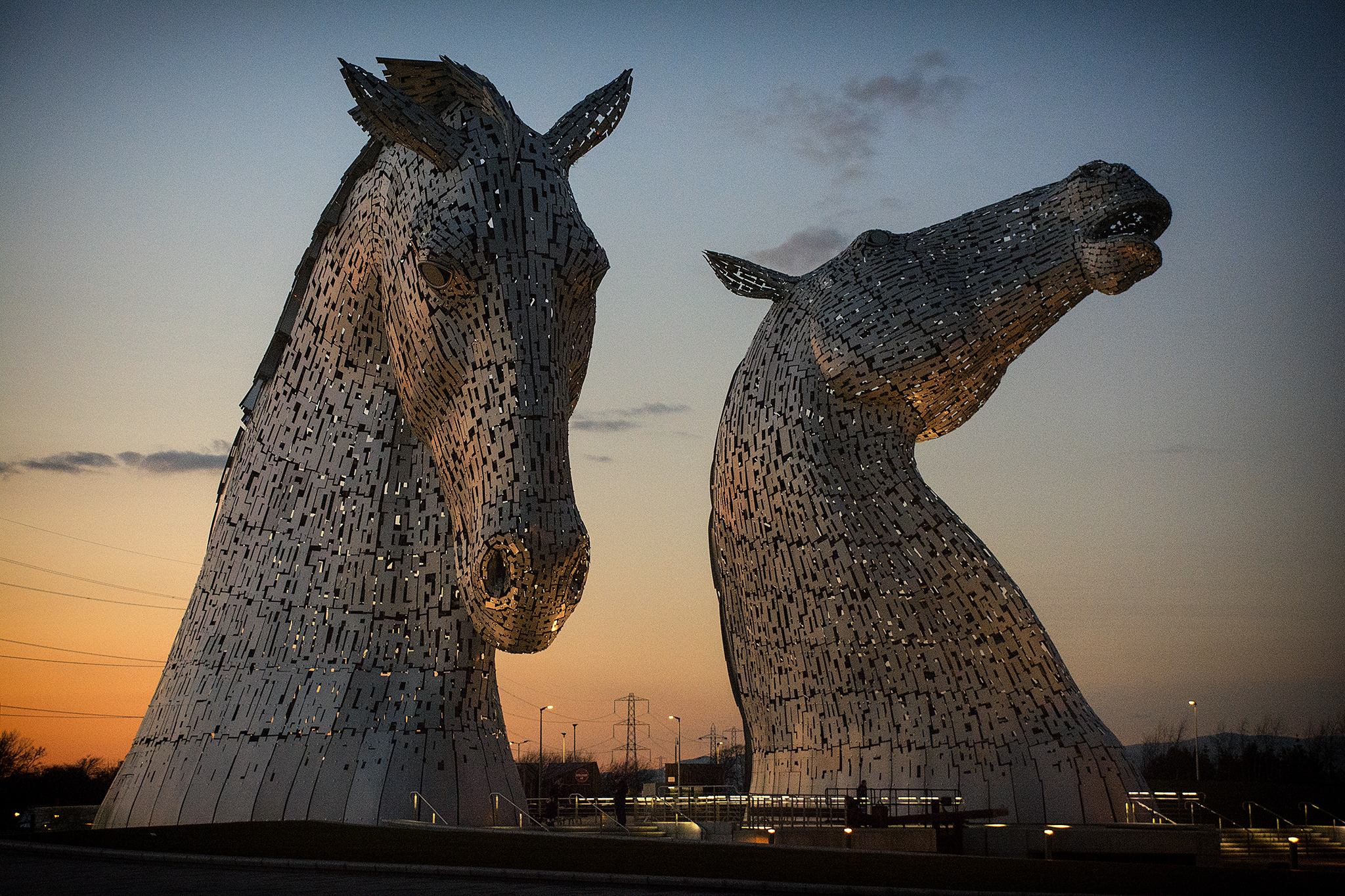 The Kelpies, Scotland, United Kingdom