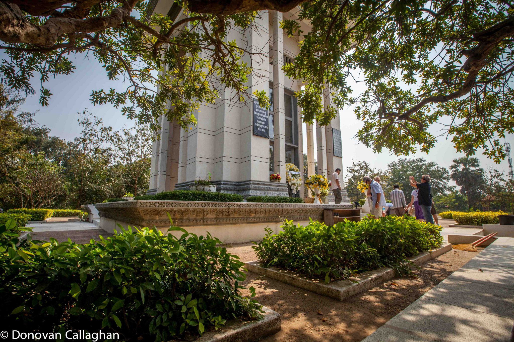 The monuement to the Killing Fields Phnom Penh, Cambodia