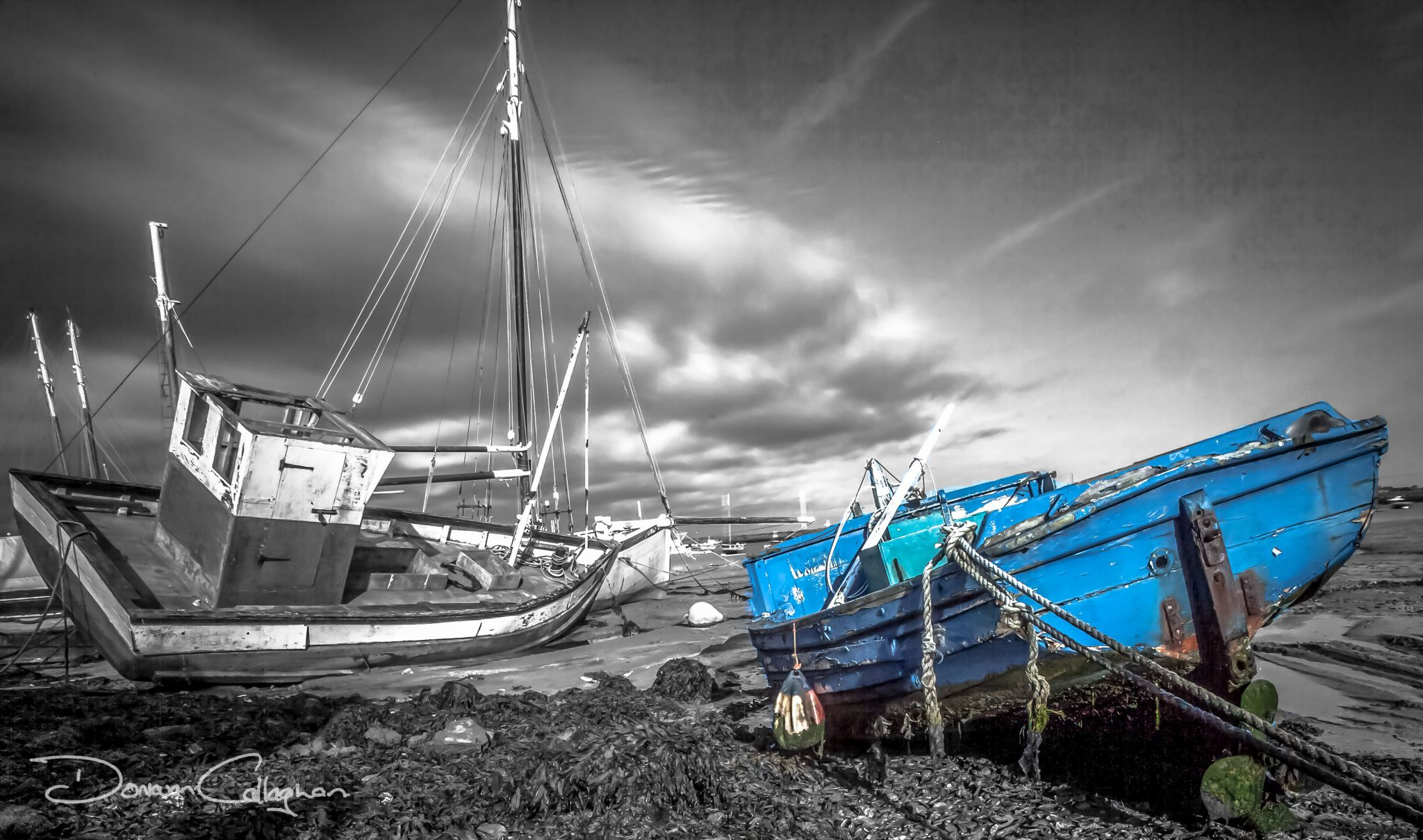 The storm is coming, Mersea Island, United Kingdom