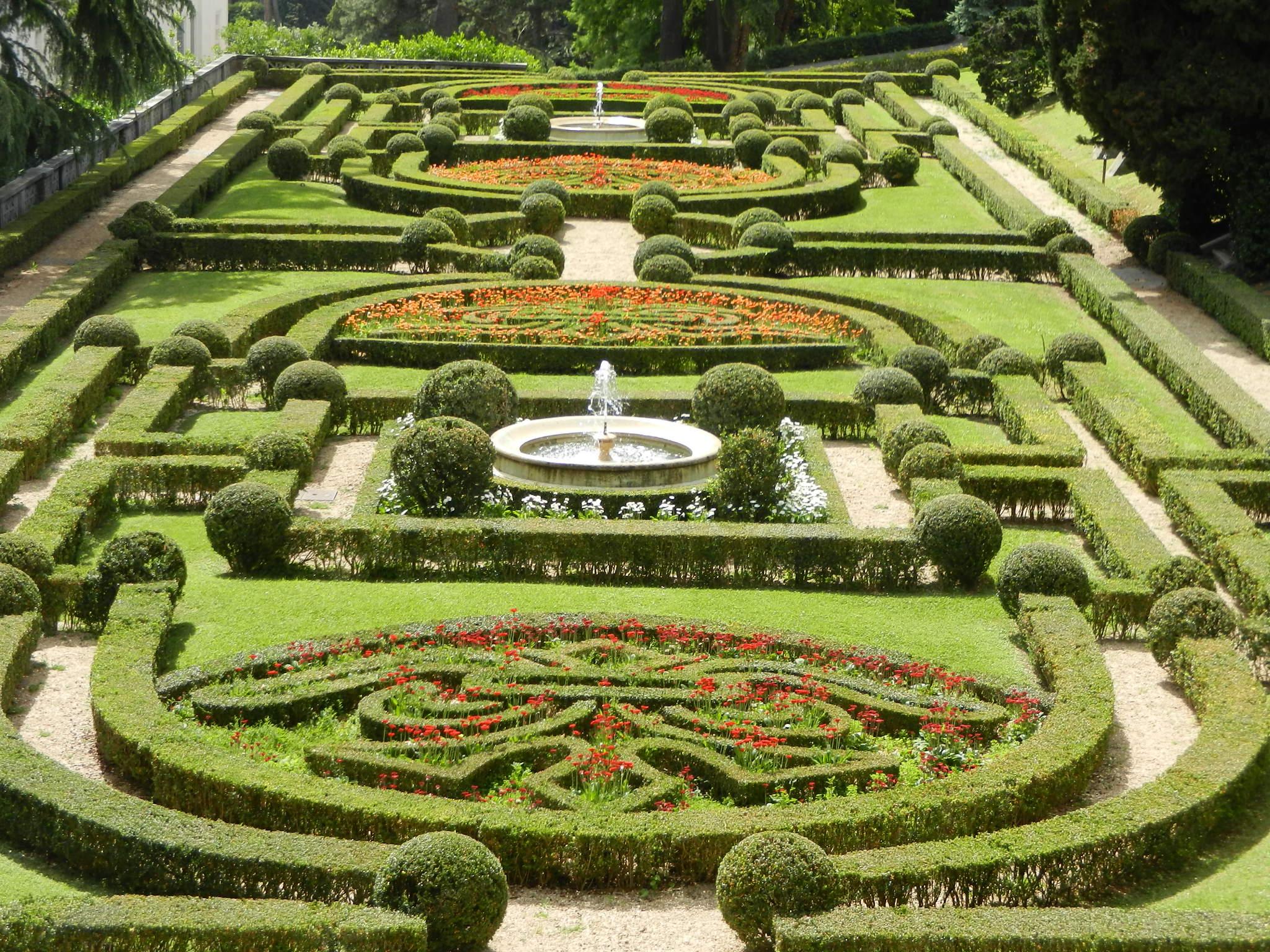 Vatican Garden, Italy