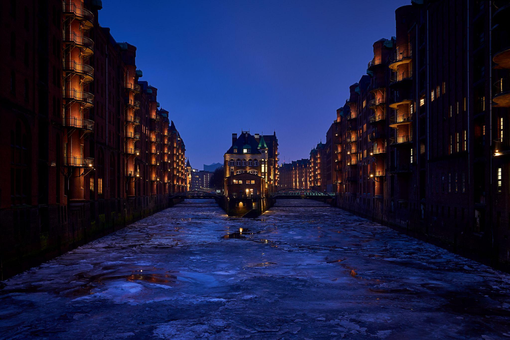 Wasserschlösschen Speicherstadt Hamburg, Germany