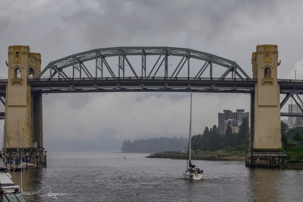 Cloudy day in Vancouver, Canada