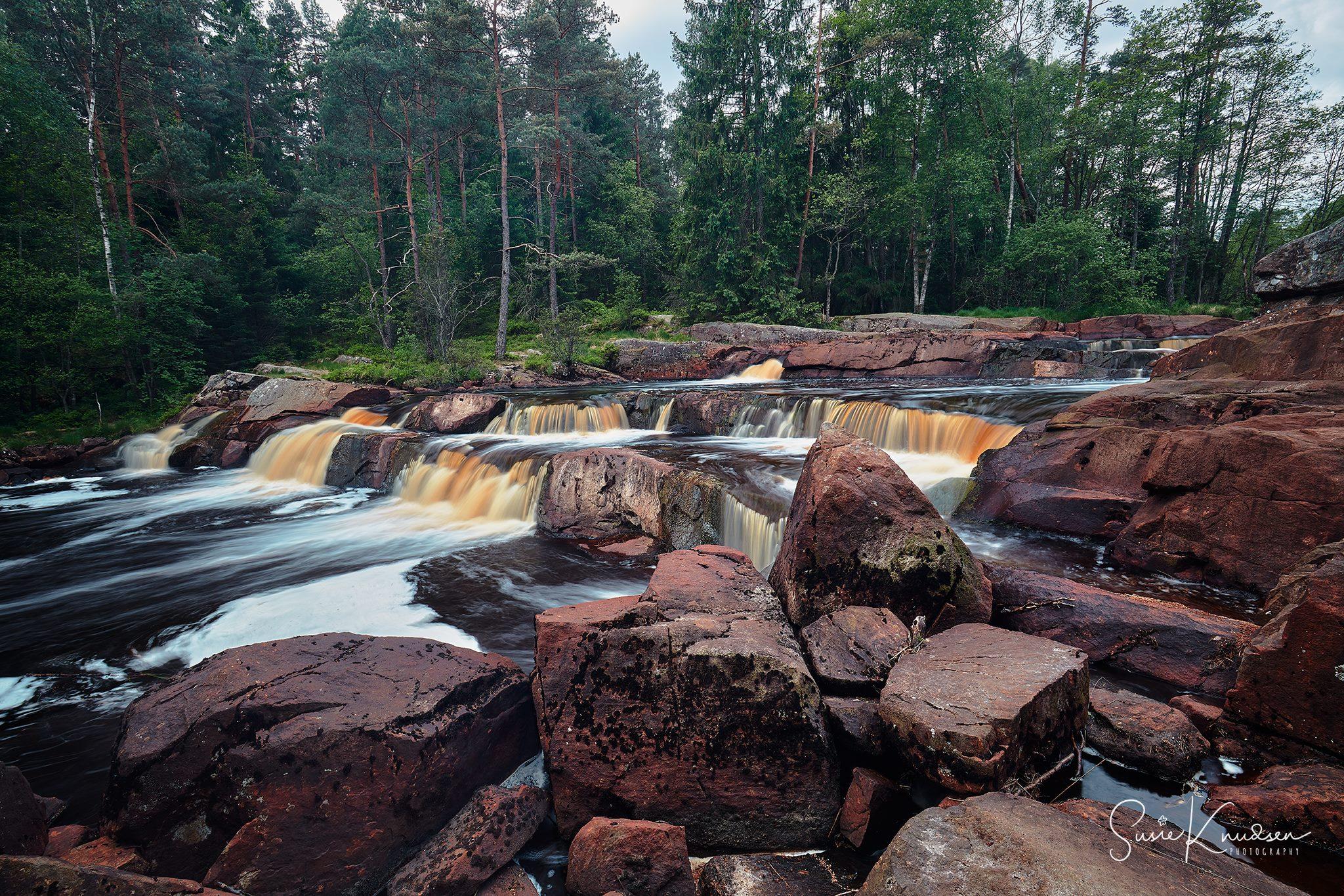 Flammafallet, Sweden