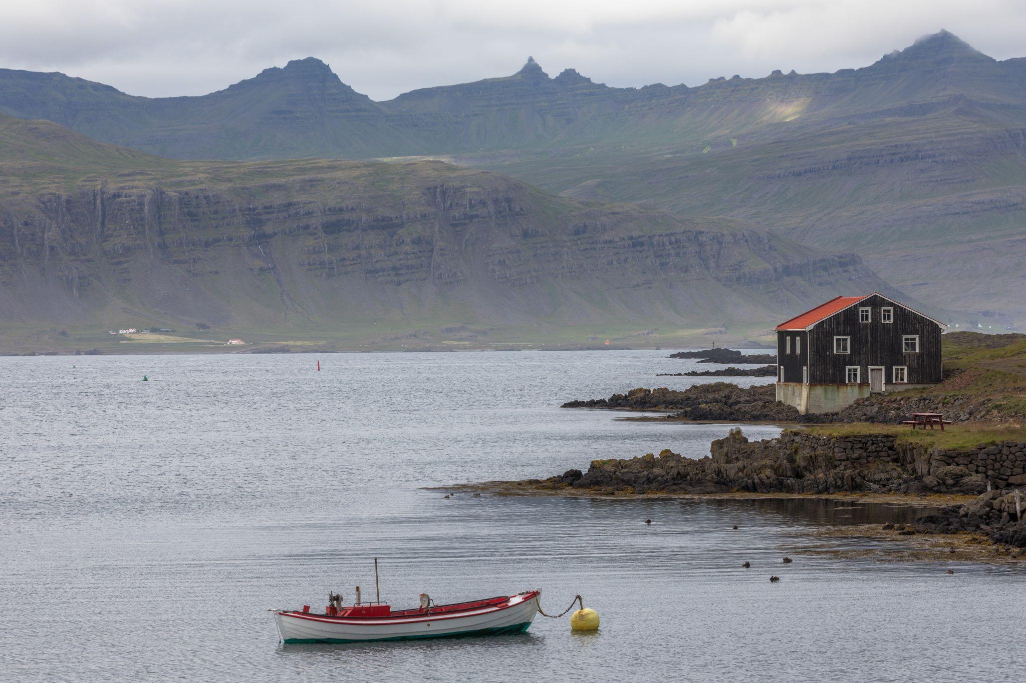 Haven of Djúpivogur, East Iceland, Iceland