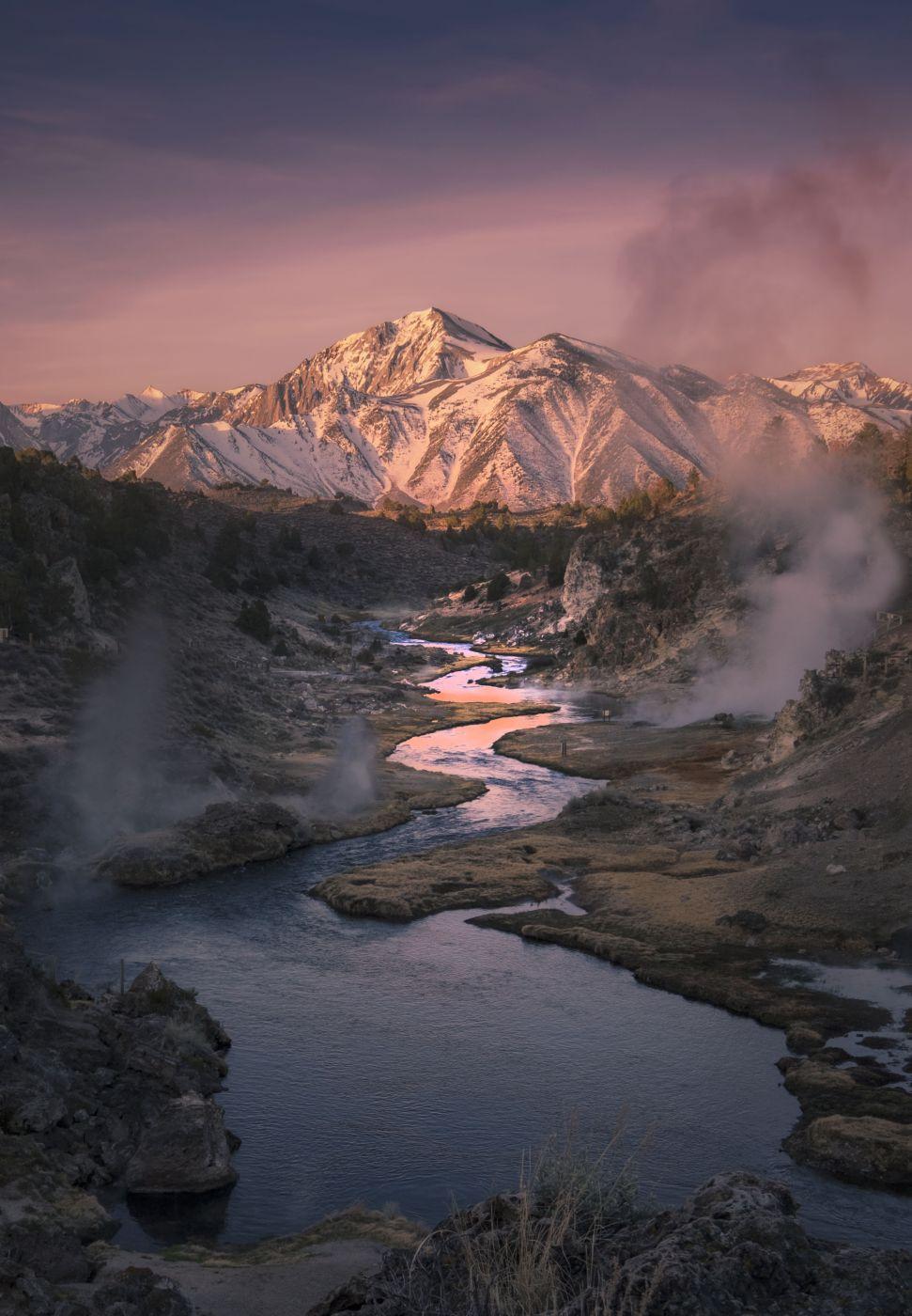 Hot Creek, USA
