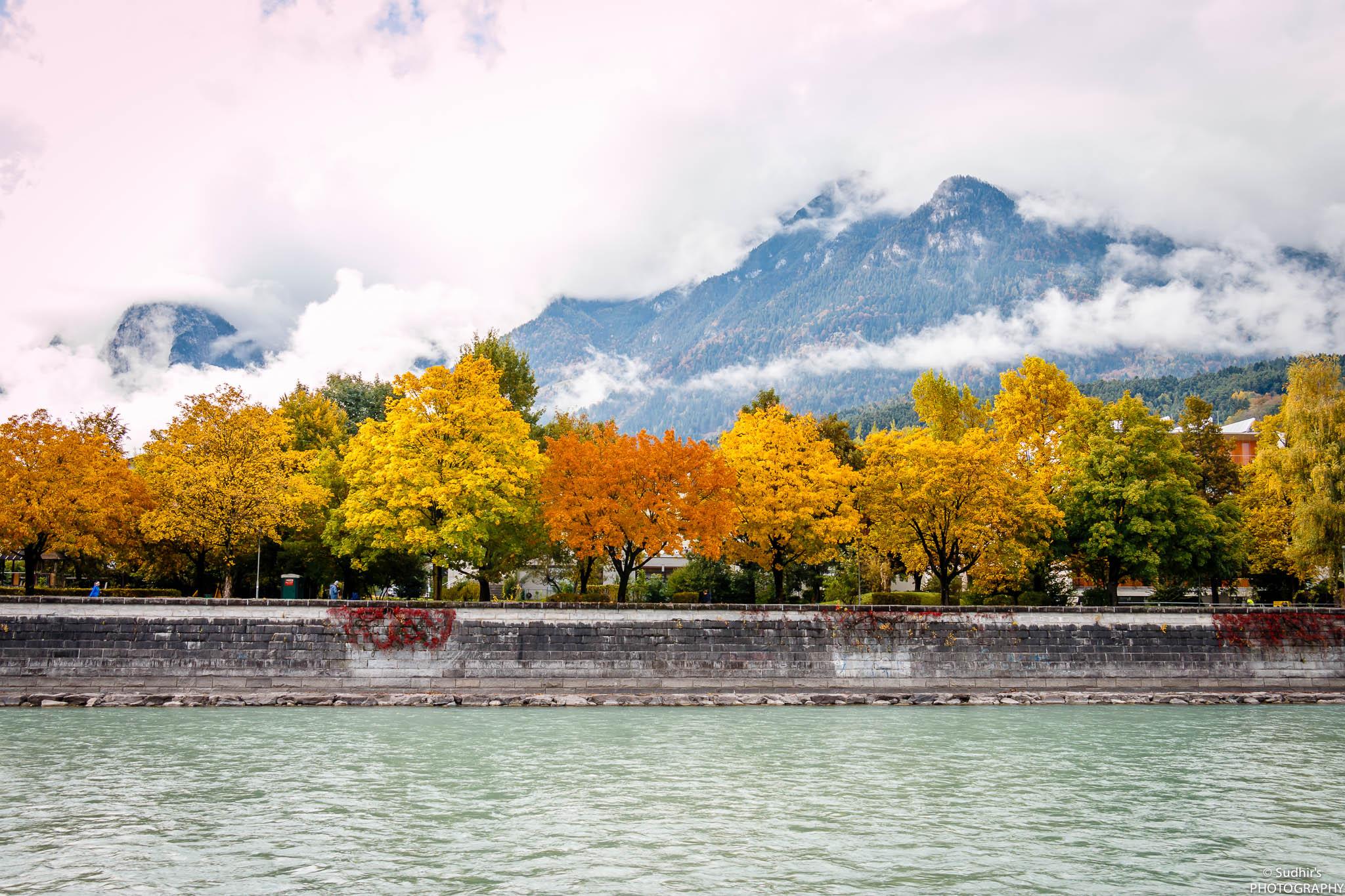 Inn river, Austria