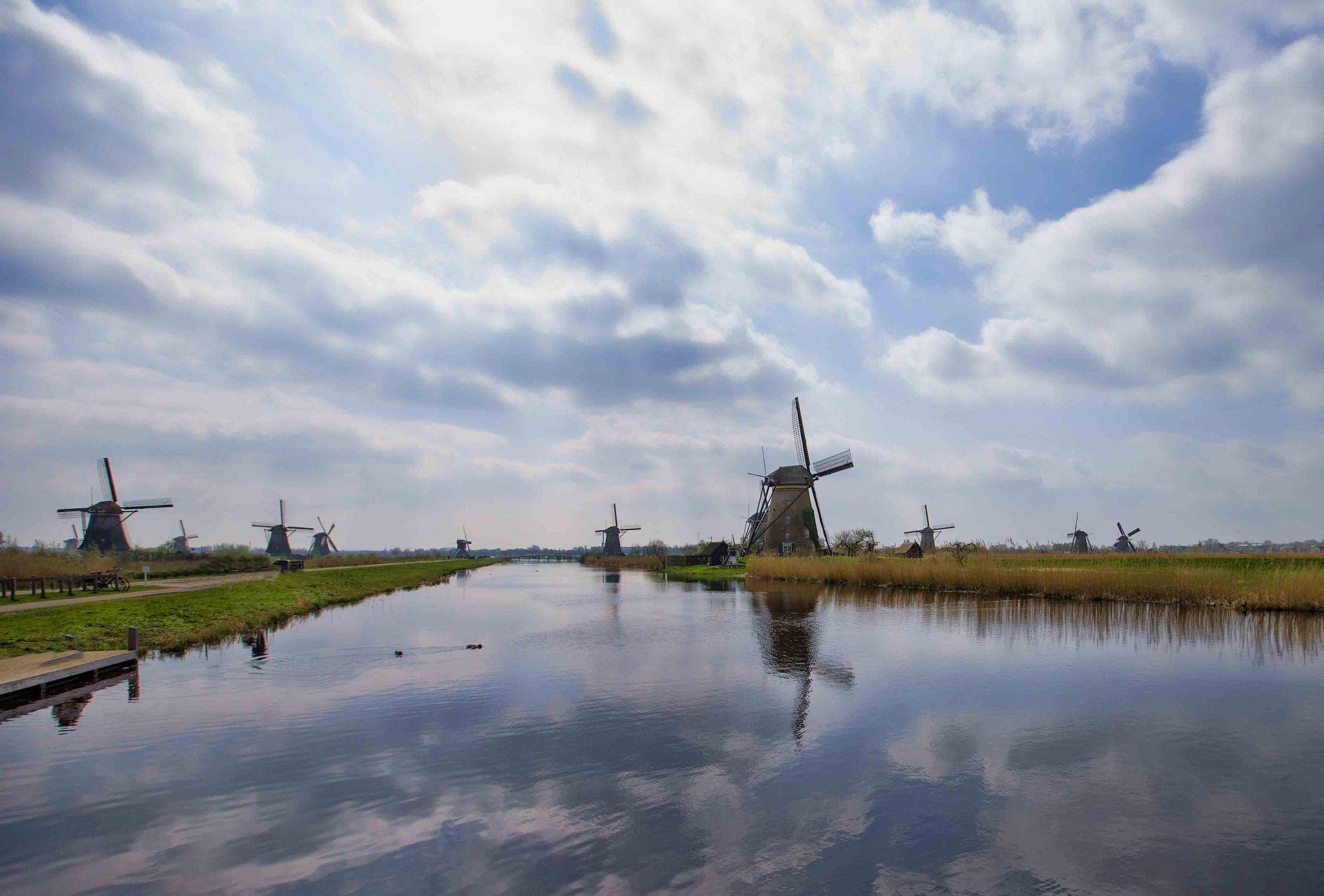 Kinderdijk Windmills, Netherlands