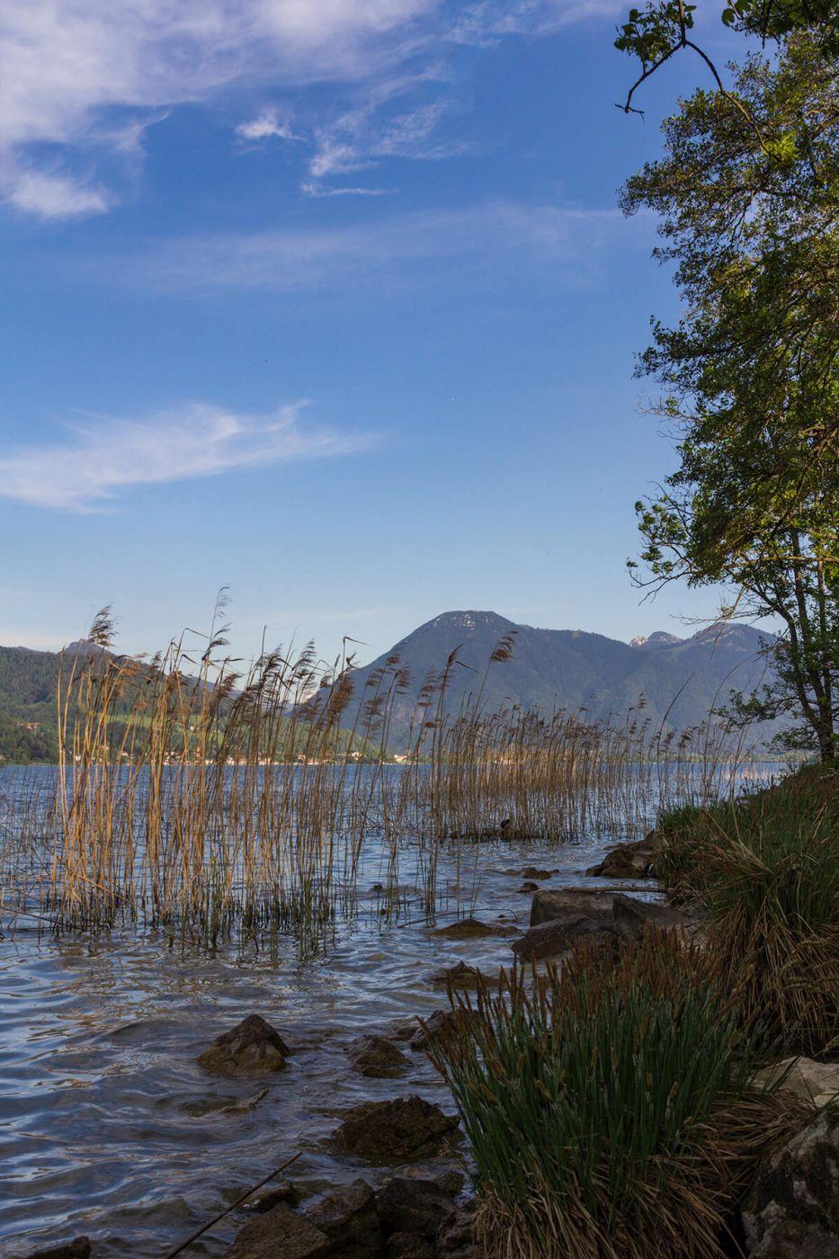 Lake Tegernsee near Holz, Germany